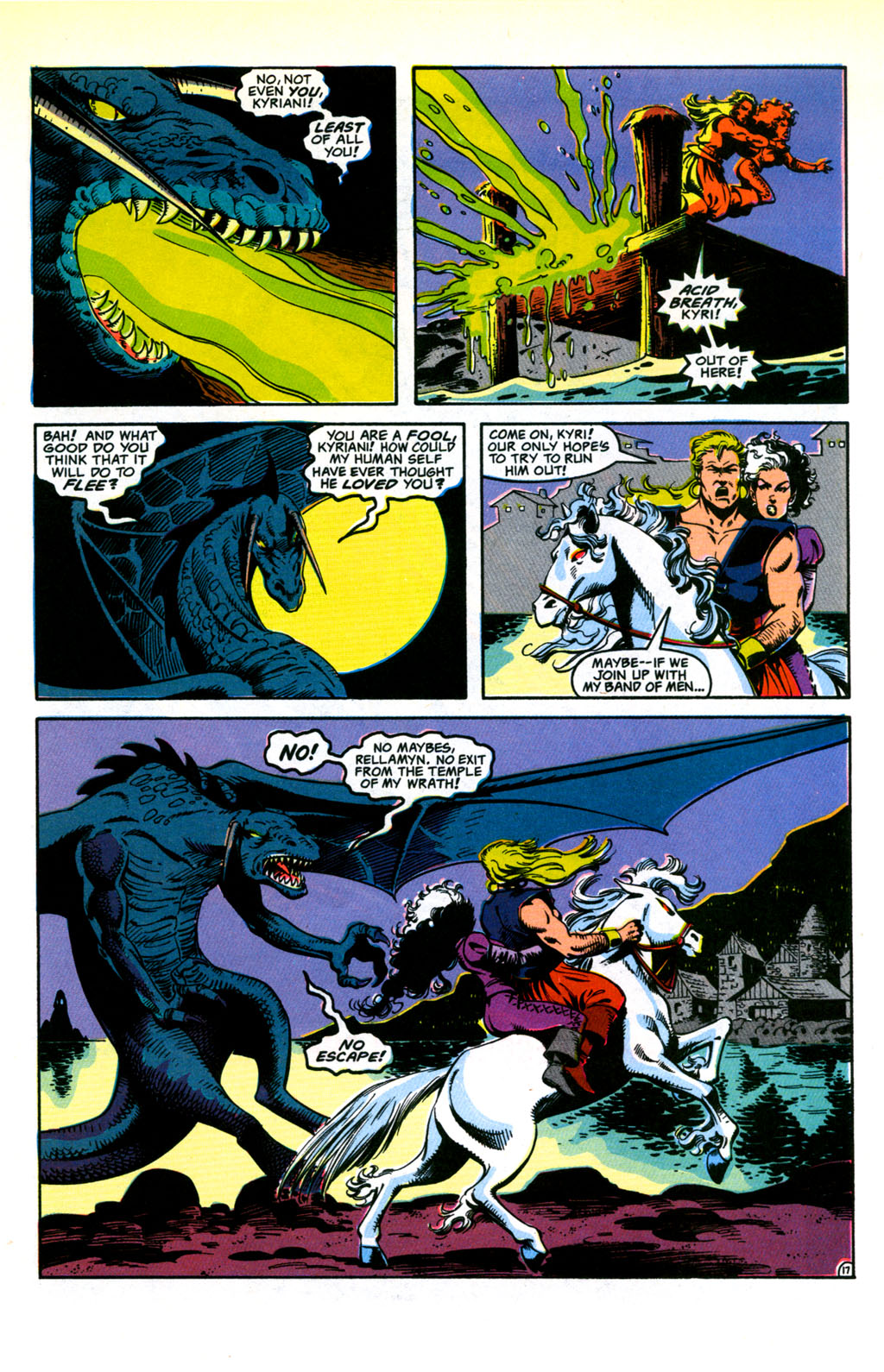 Read online Advanced Dungeons & Dragons comic -  Issue #30 - 17