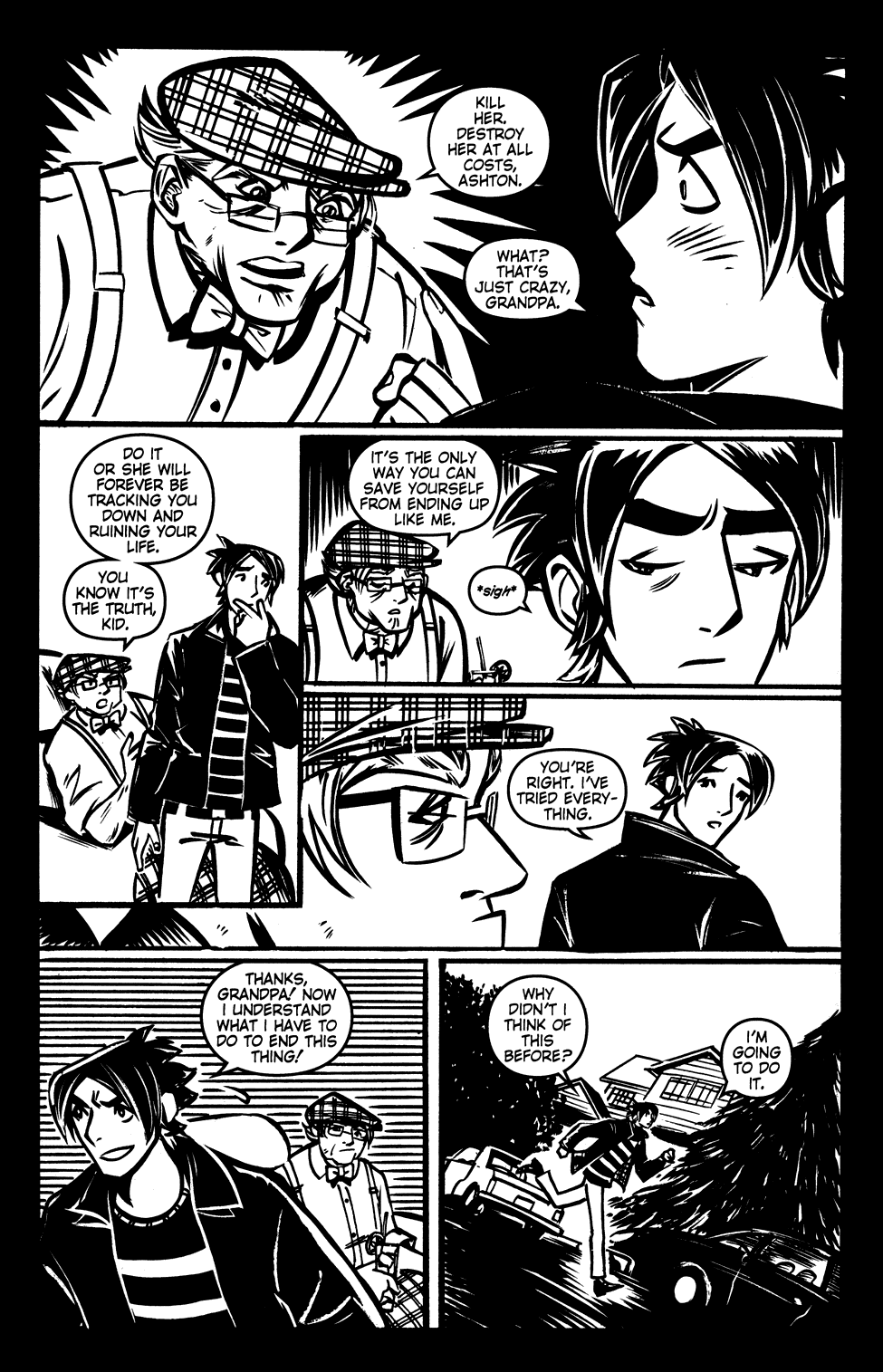 Read online Scooter Girl comic -  Issue #3 - 24