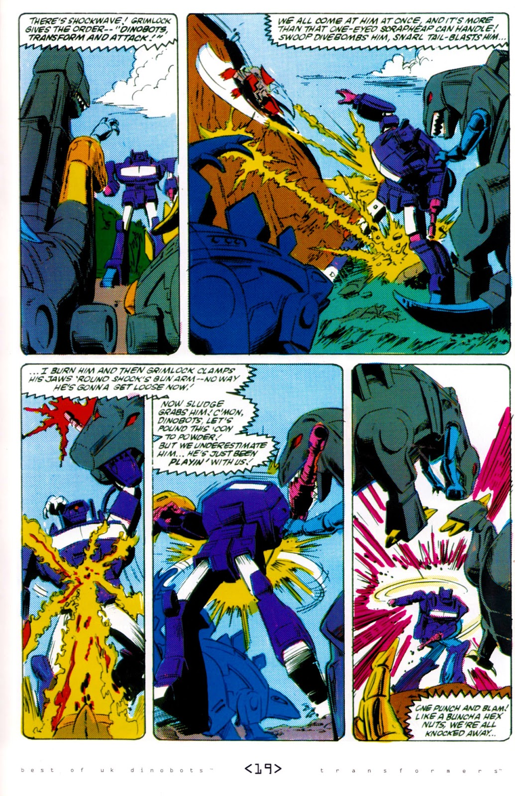 Read online The Transformers: Best of UK: Dinobots comic -  Issue #6 - 22