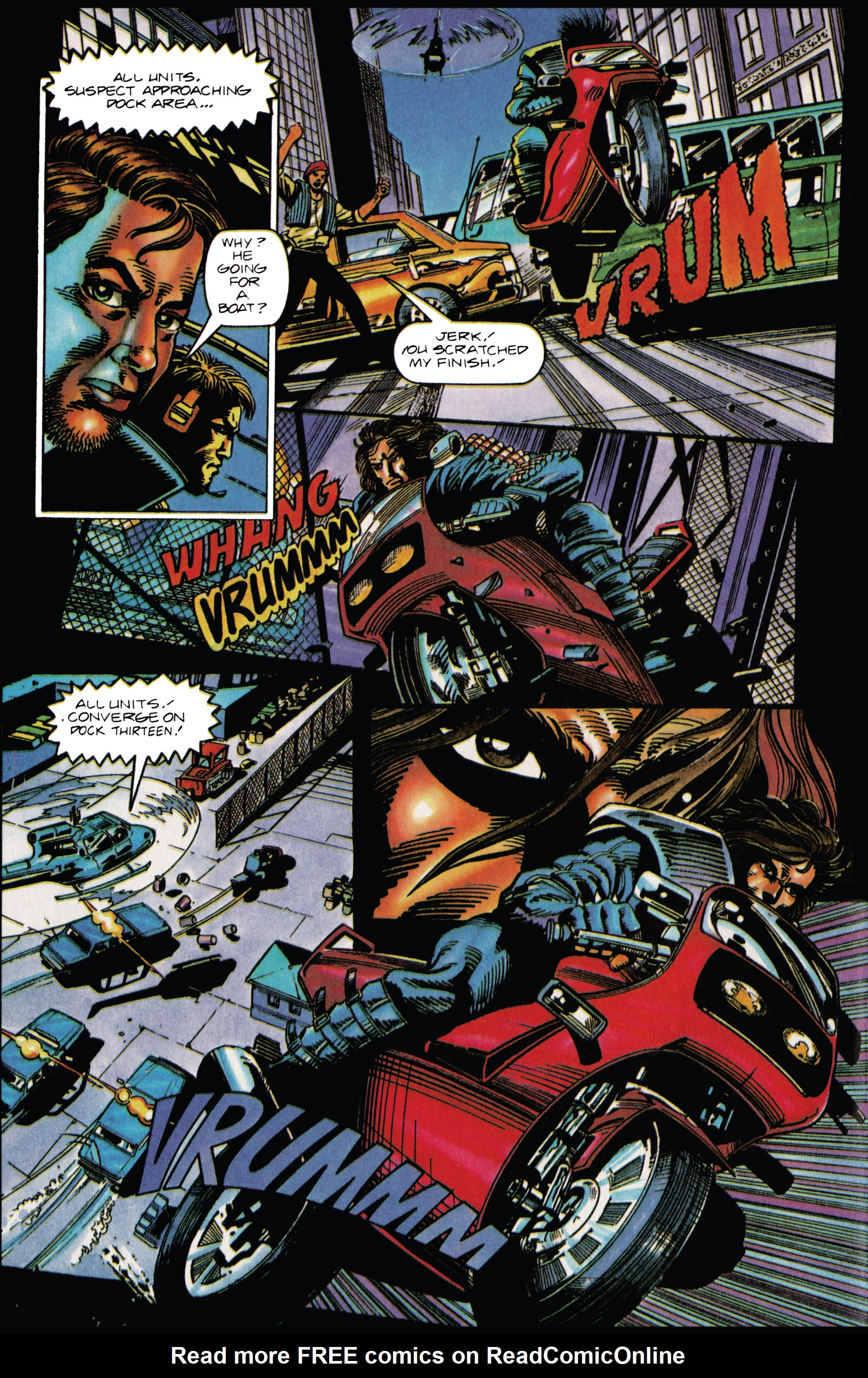 Read online Eternal Warrior (1992) comic -  Issue #33 - 20
