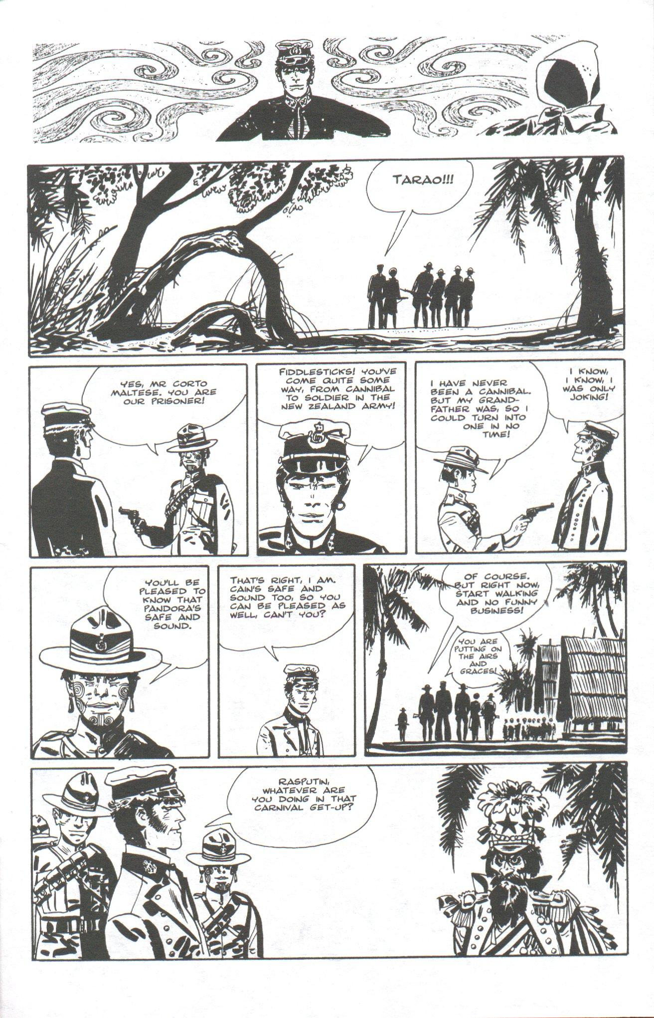 Read online Corto Maltese: Ballad of the Salt Sea comic -  Issue #6 - 23