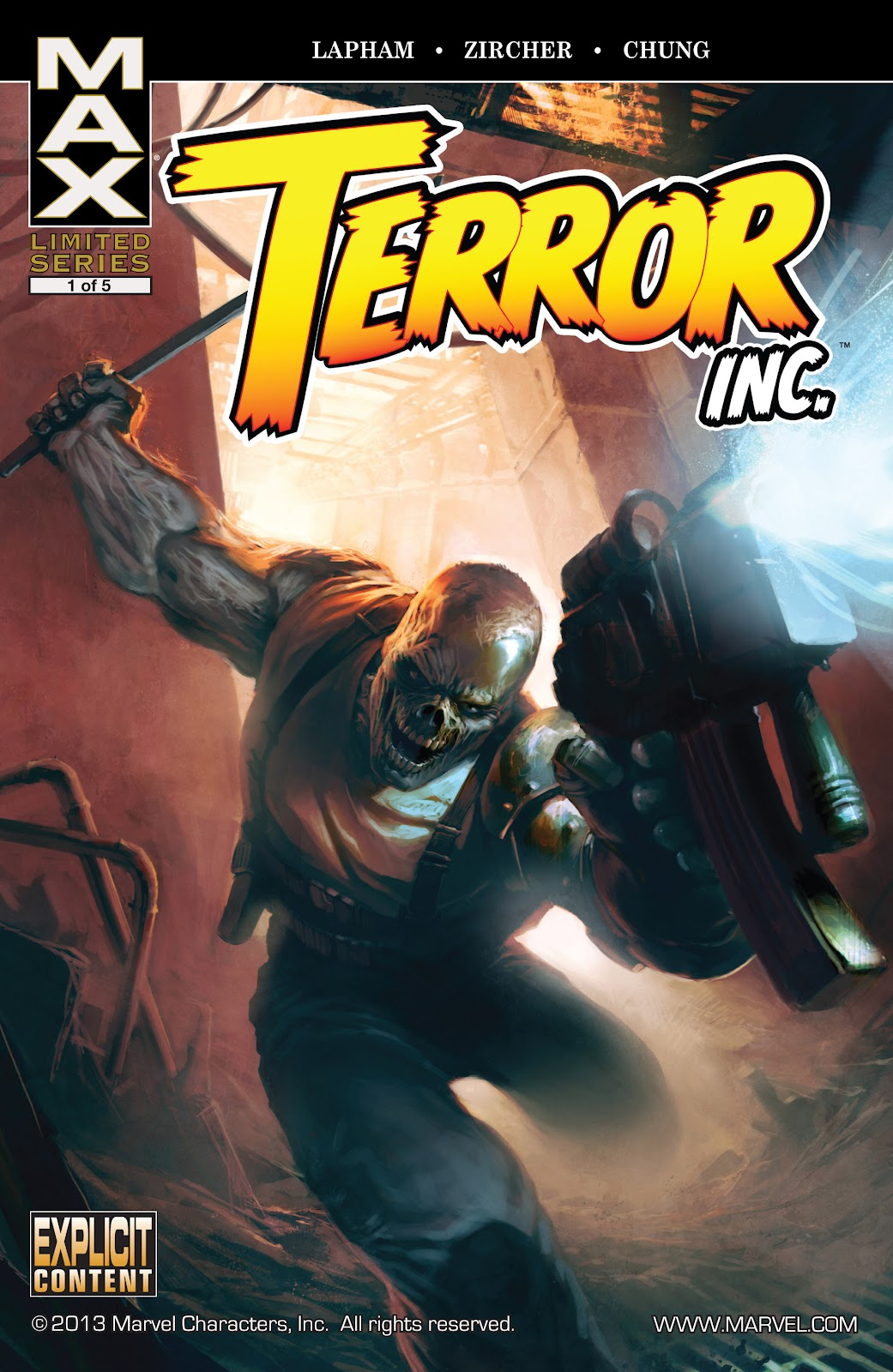 Terror, Inc. (2007) issue 1 - Page 1