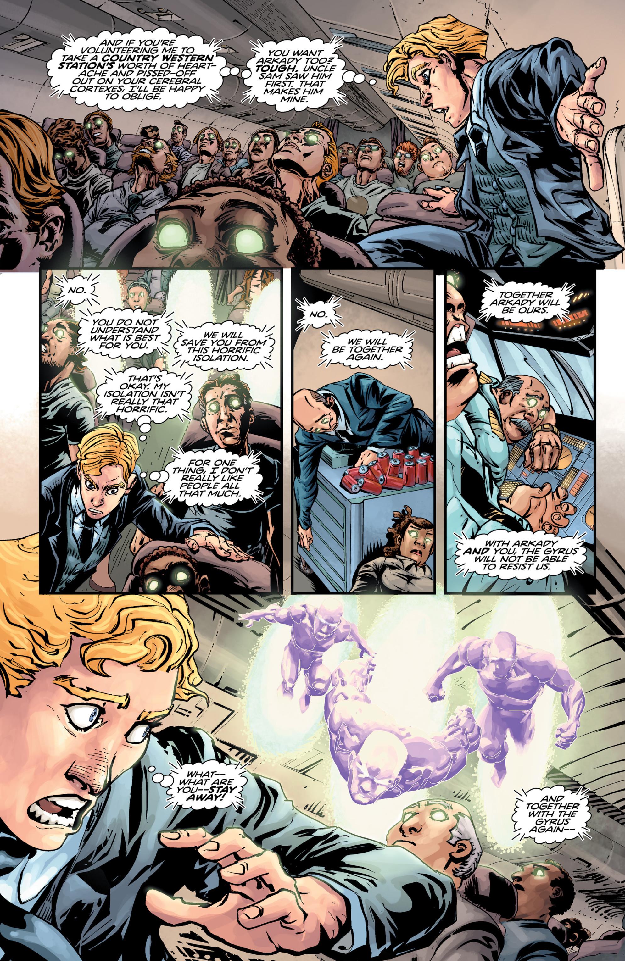 Read online Brain Boy:  The Men from G.E.S.T.A.L.T. comic -  Issue # TPB - 28