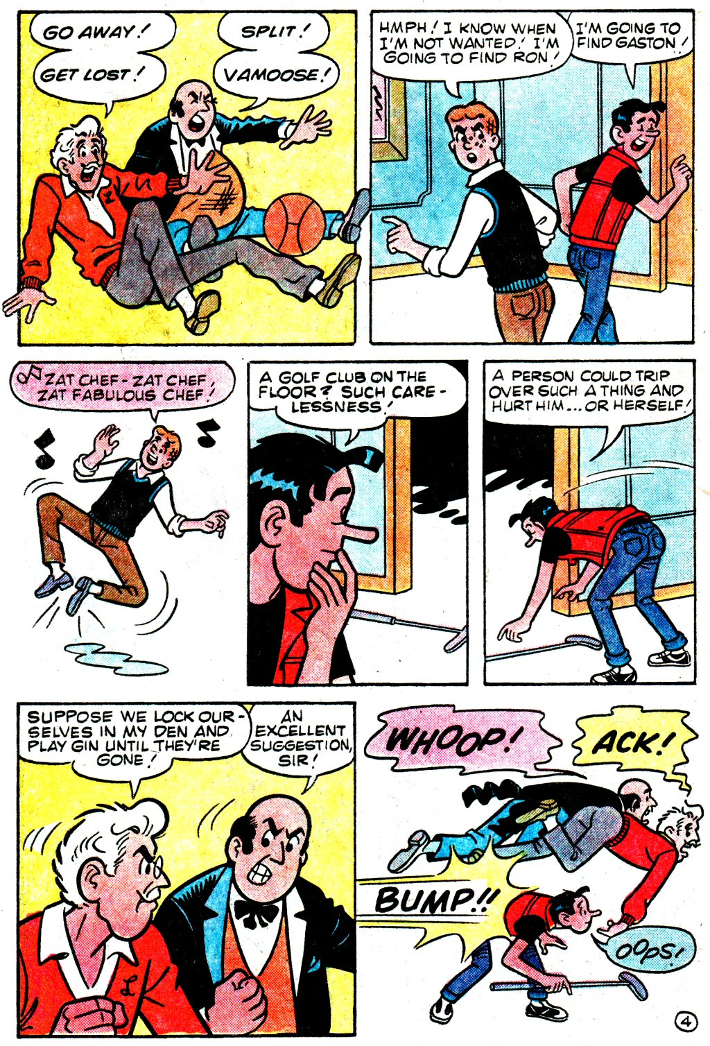 Read online Archie (1960) comic -  Issue #329 - 6