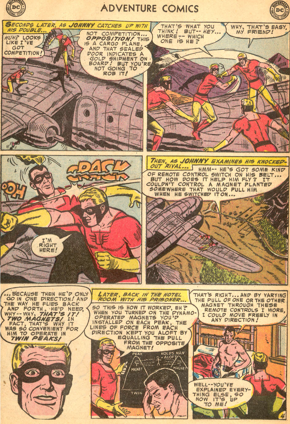 Read online Adventure Comics (1938) comic -  Issue #200 - 27