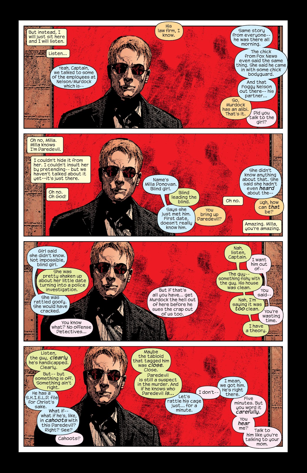 Read online Daredevil (1998) comic -  Issue # _Ultimate_Collection TPB 2 (Part 1) - 82