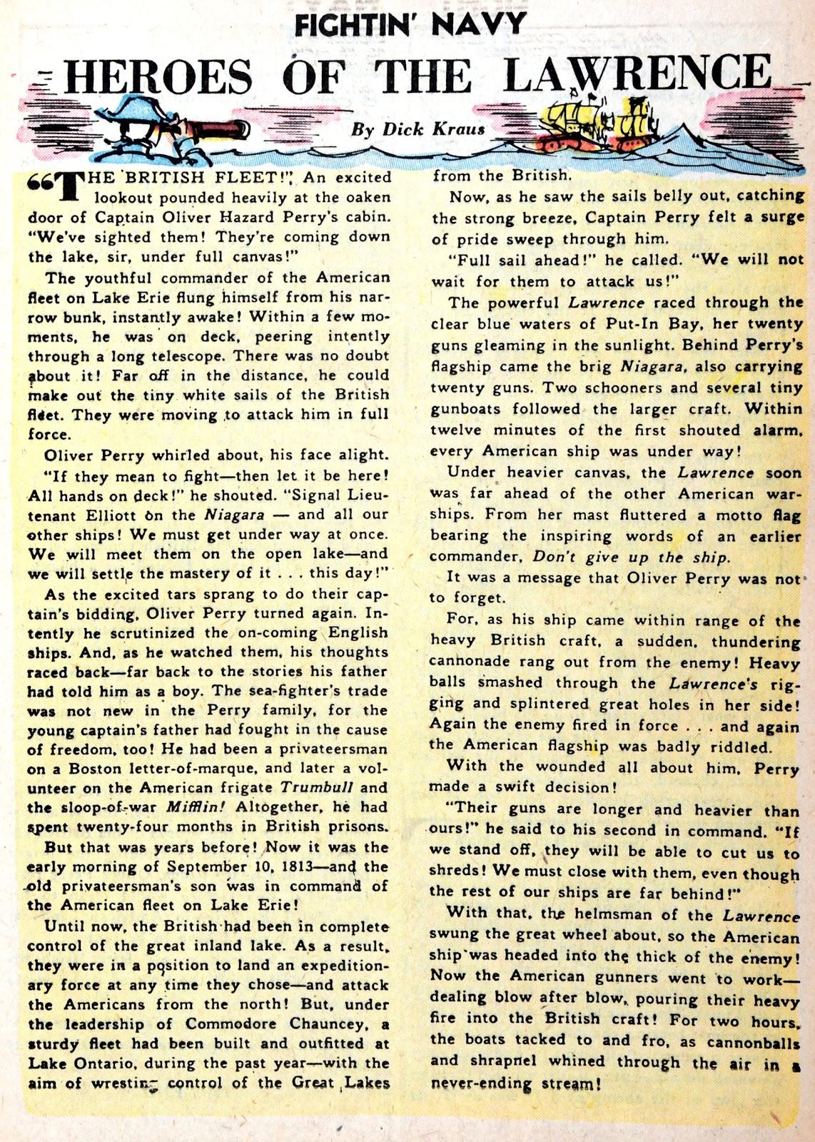 Read online Fightin' Navy comic -  Issue #75 - 17