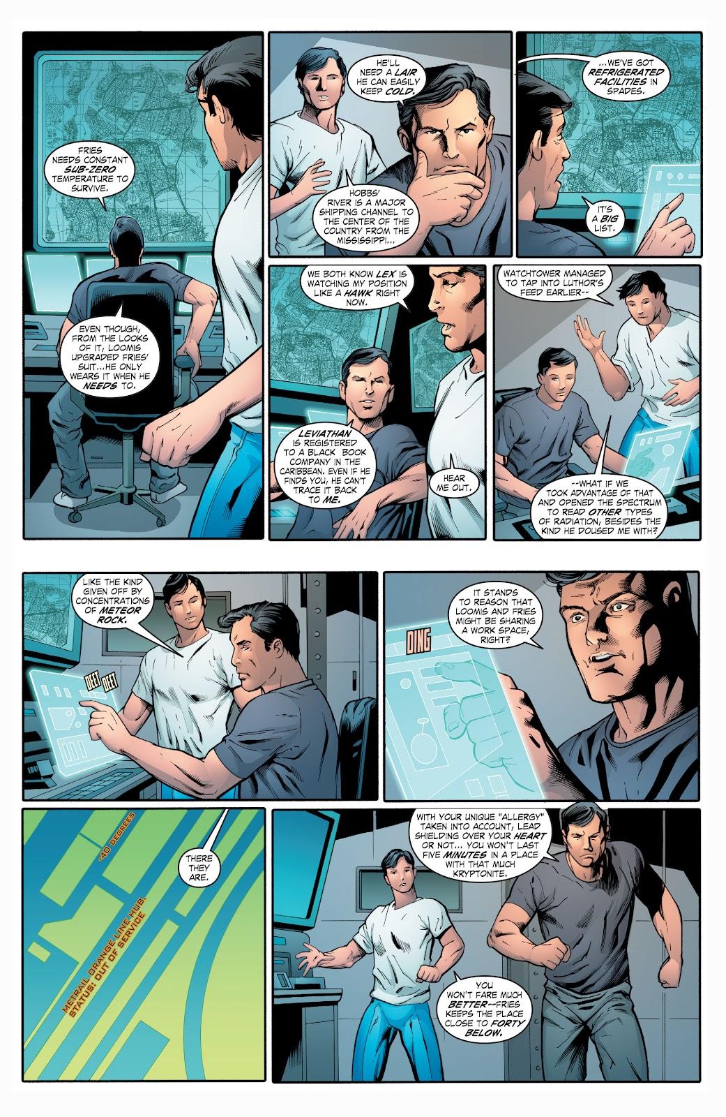Read online Smallville Season 11 [II] comic -  Issue # TPB 2 - 108