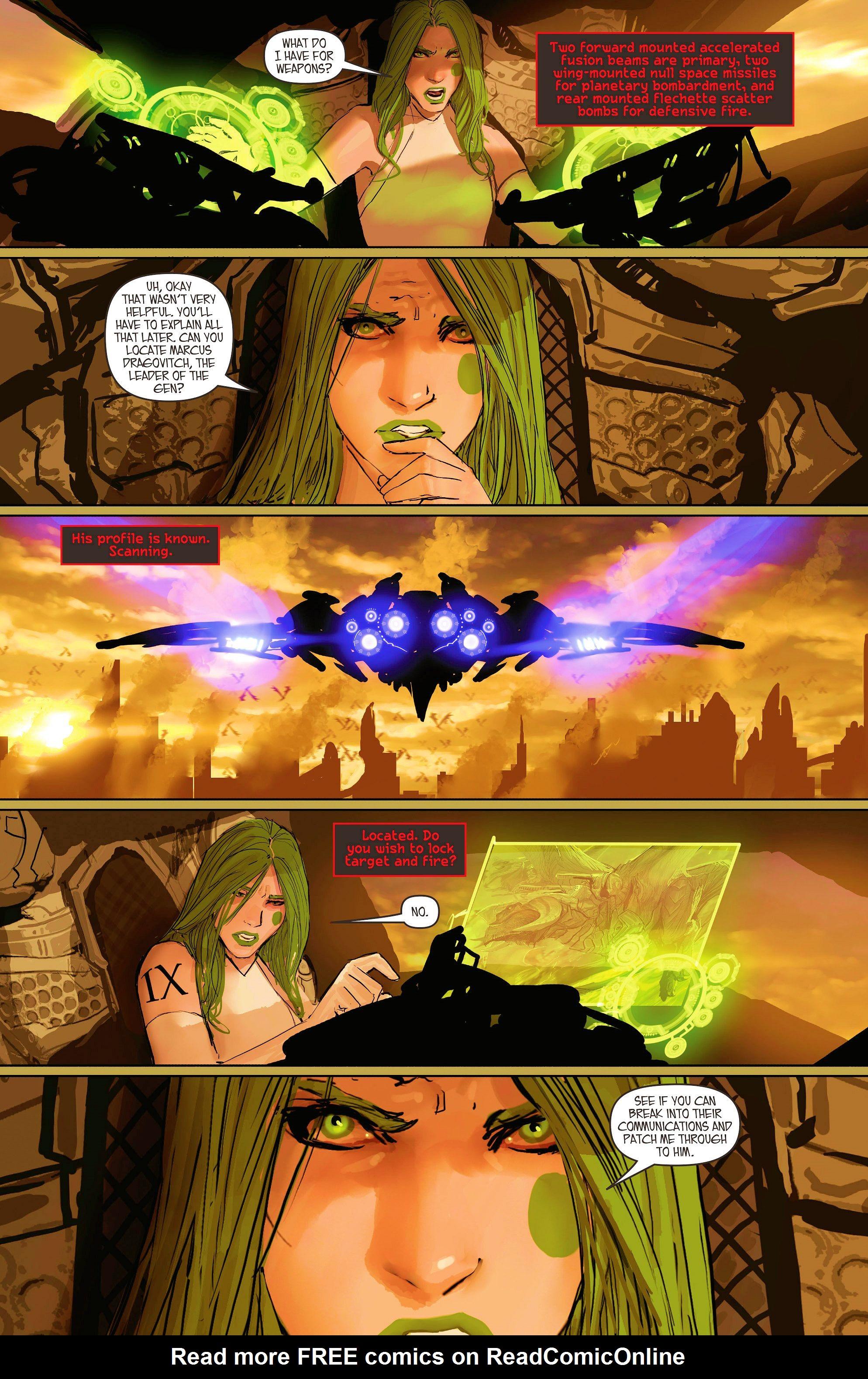 Read online Aphrodite IX (2013) comic -  Issue #11 - 14