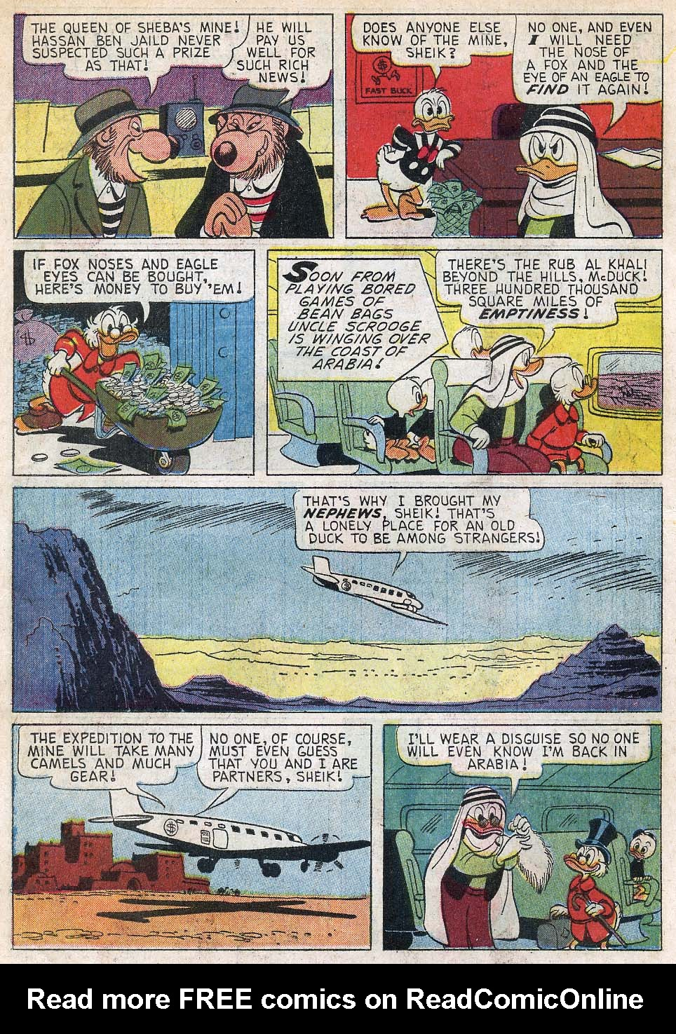 Read online Uncle Scrooge (1953) comic -  Issue #55 - 6