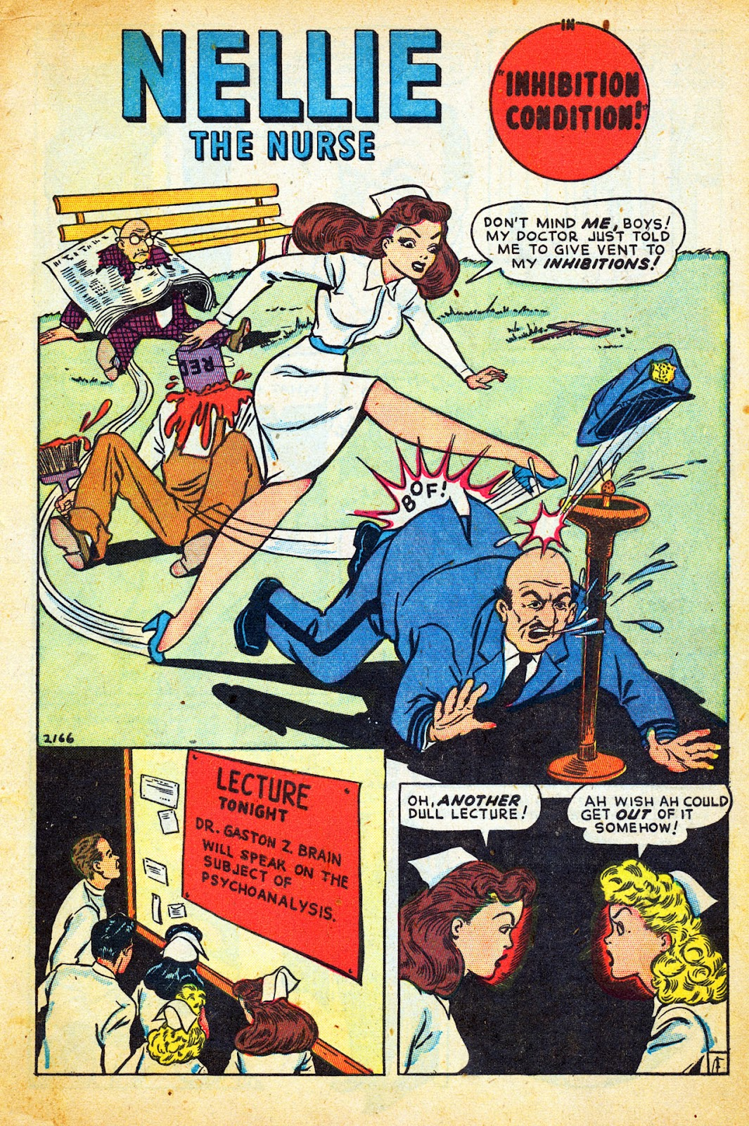 Read online Nellie The Nurse (1945) comic -  Issue #12 - 3