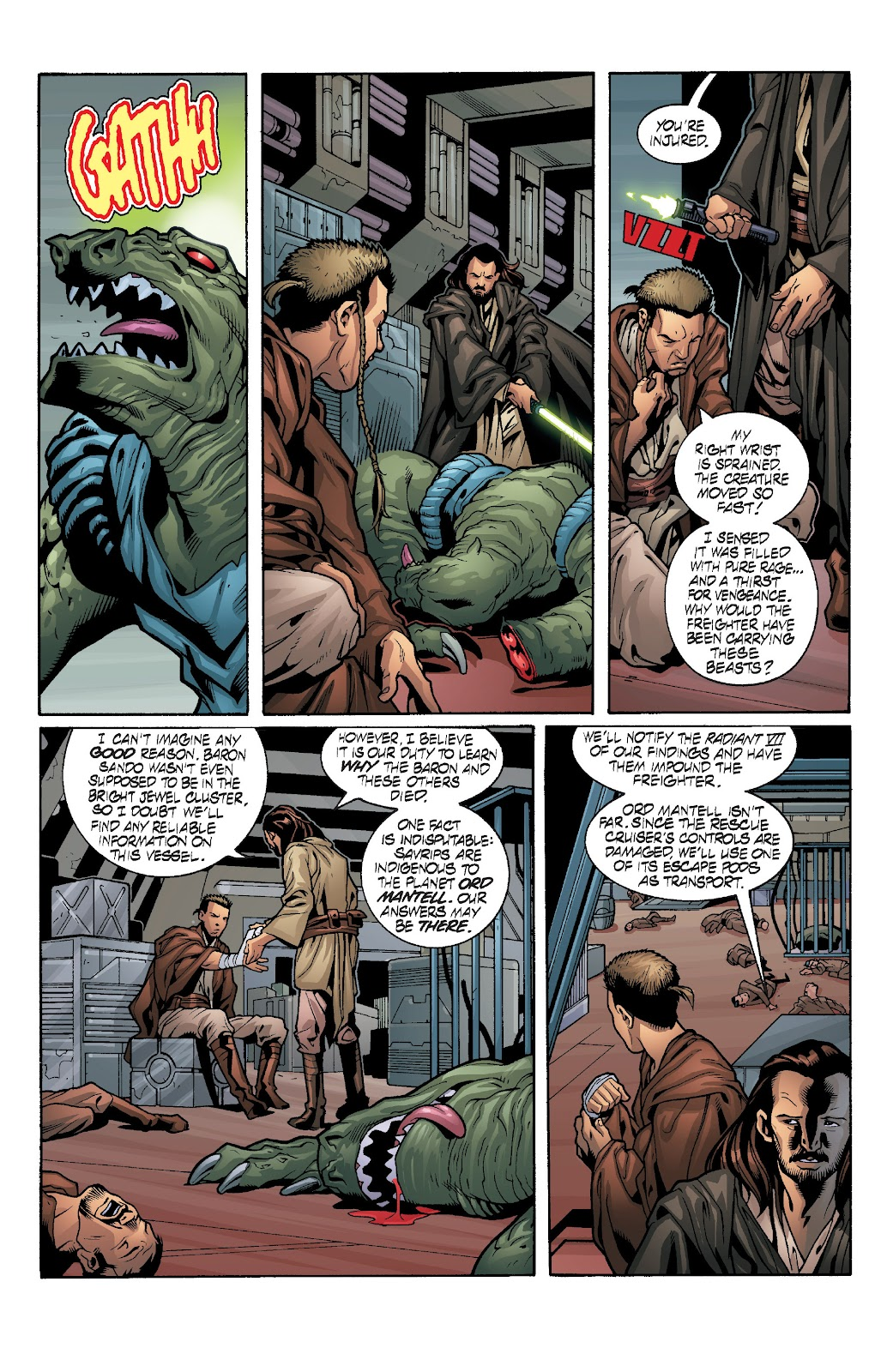 Read online Star Wars Legends: Rise of the Sith - Epic Collection comic -  Issue # TPB 1 (Part 3) - 88