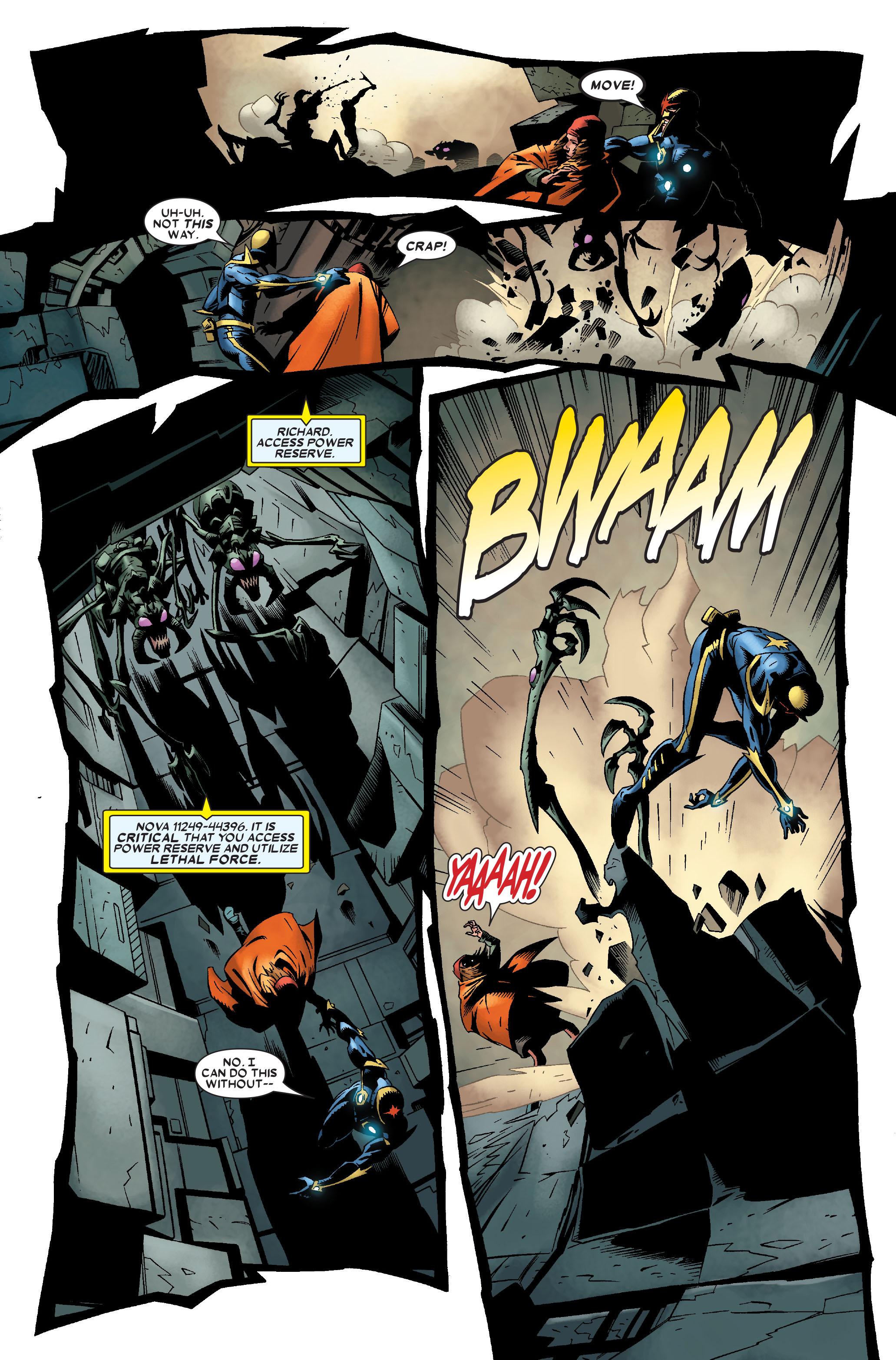 Read online Annihilation: Nova comic -  Issue #2 - 11