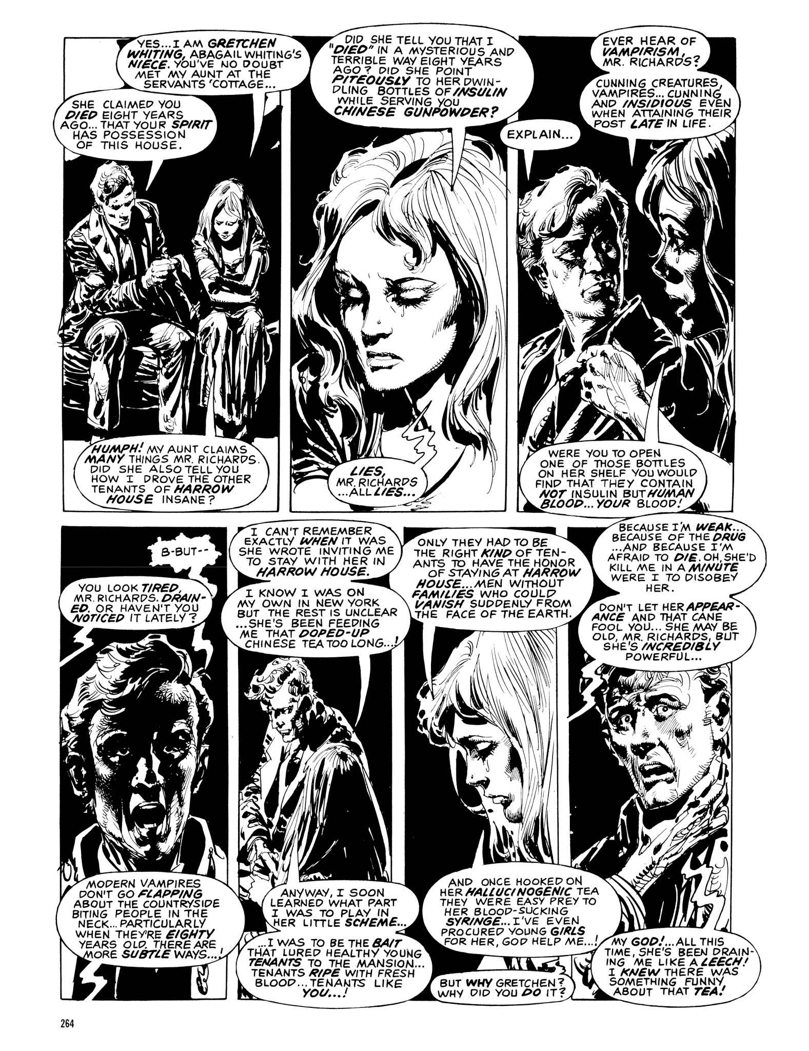 Read online Eerie Archives comic -  Issue # TPB 20 - 264