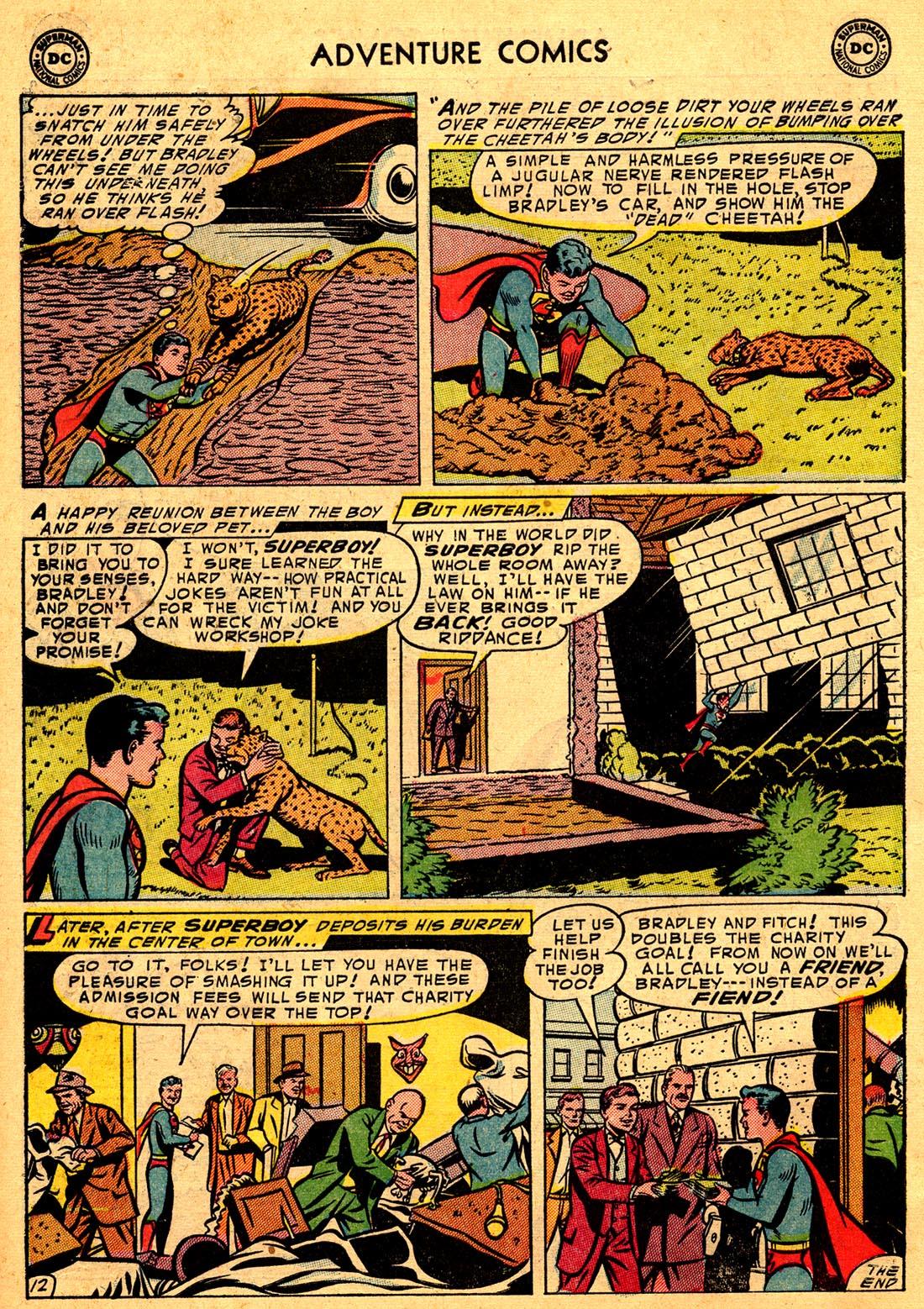 Read online Adventure Comics (1938) comic -  Issue #204 - 14