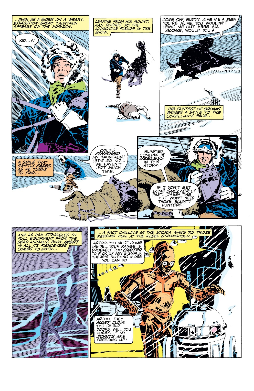 Read online Star Wars Legends: The Original Marvel Years - Epic Collection comic -  Issue # TPB 3 (Part 1) - 17