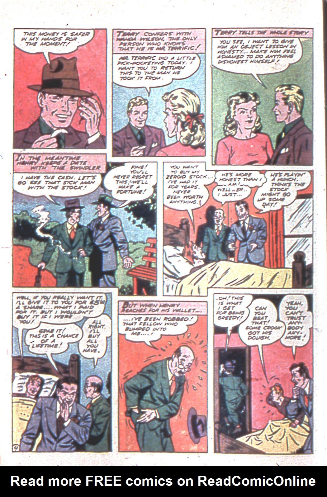 Read online Sensation (Mystery) Comics comic -  Issue #6 - 28