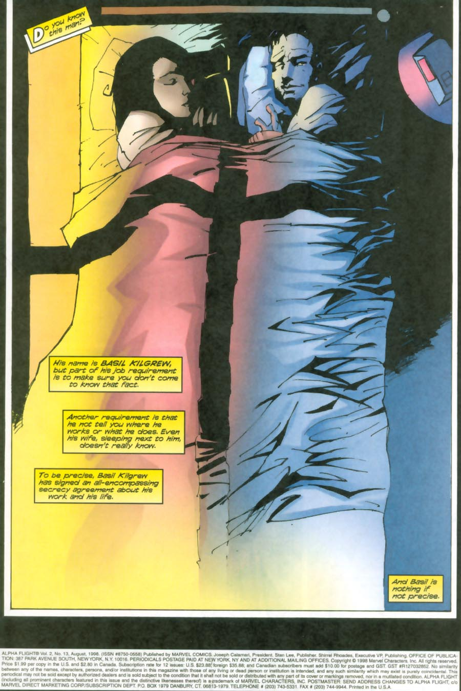 Read online Alpha Flight (1997) comic -  Issue #13 - 2