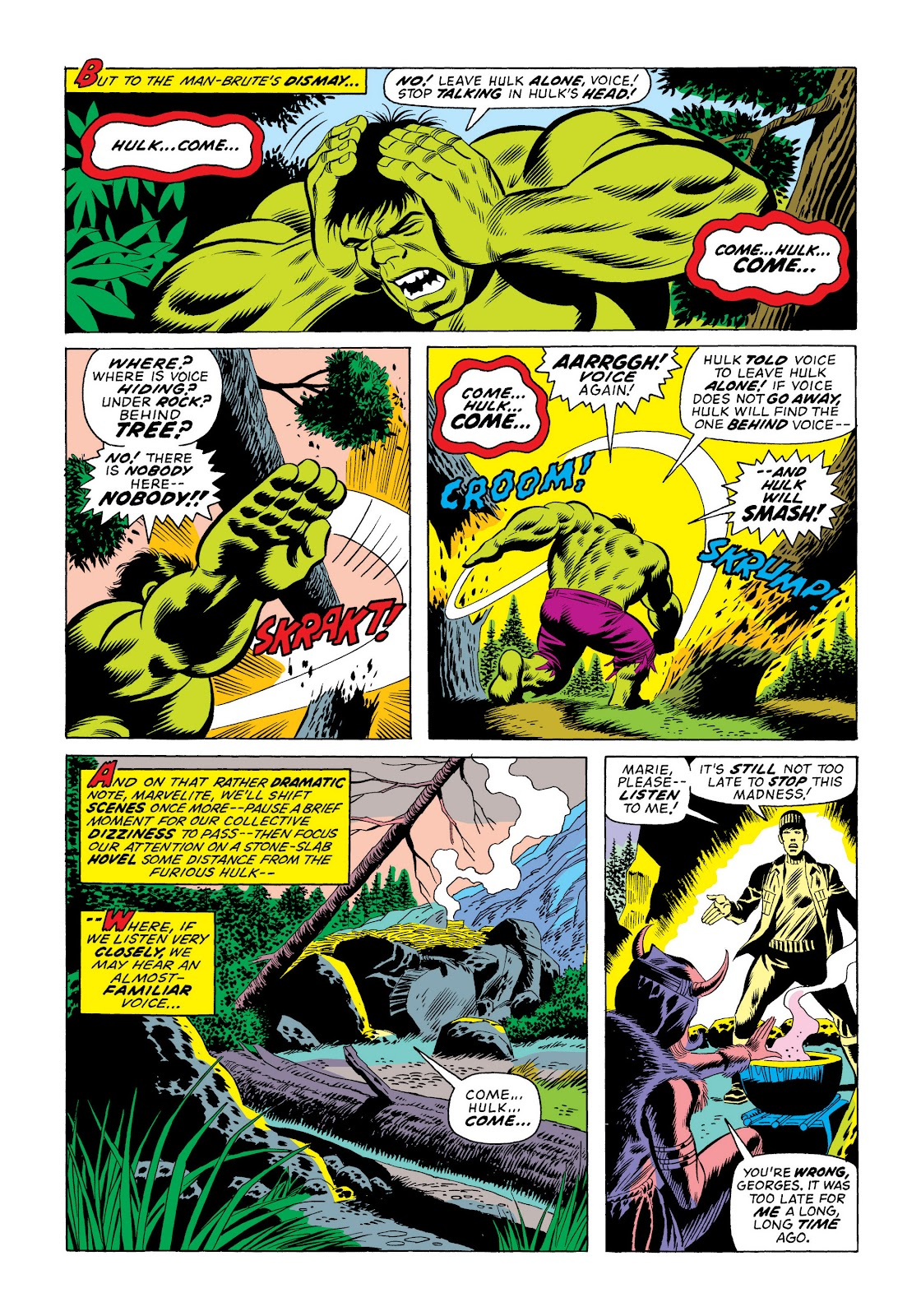 Read online Marvel Masterworks: The Incredible Hulk comic -  Issue # TPB 10 (Part 2) - 93