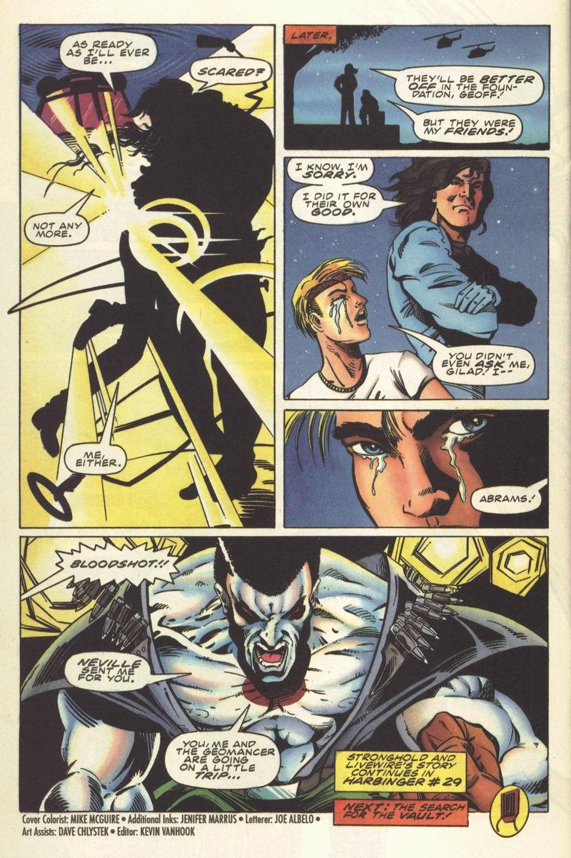 Read online Secret Weapons comic -  Issue #8 - 22