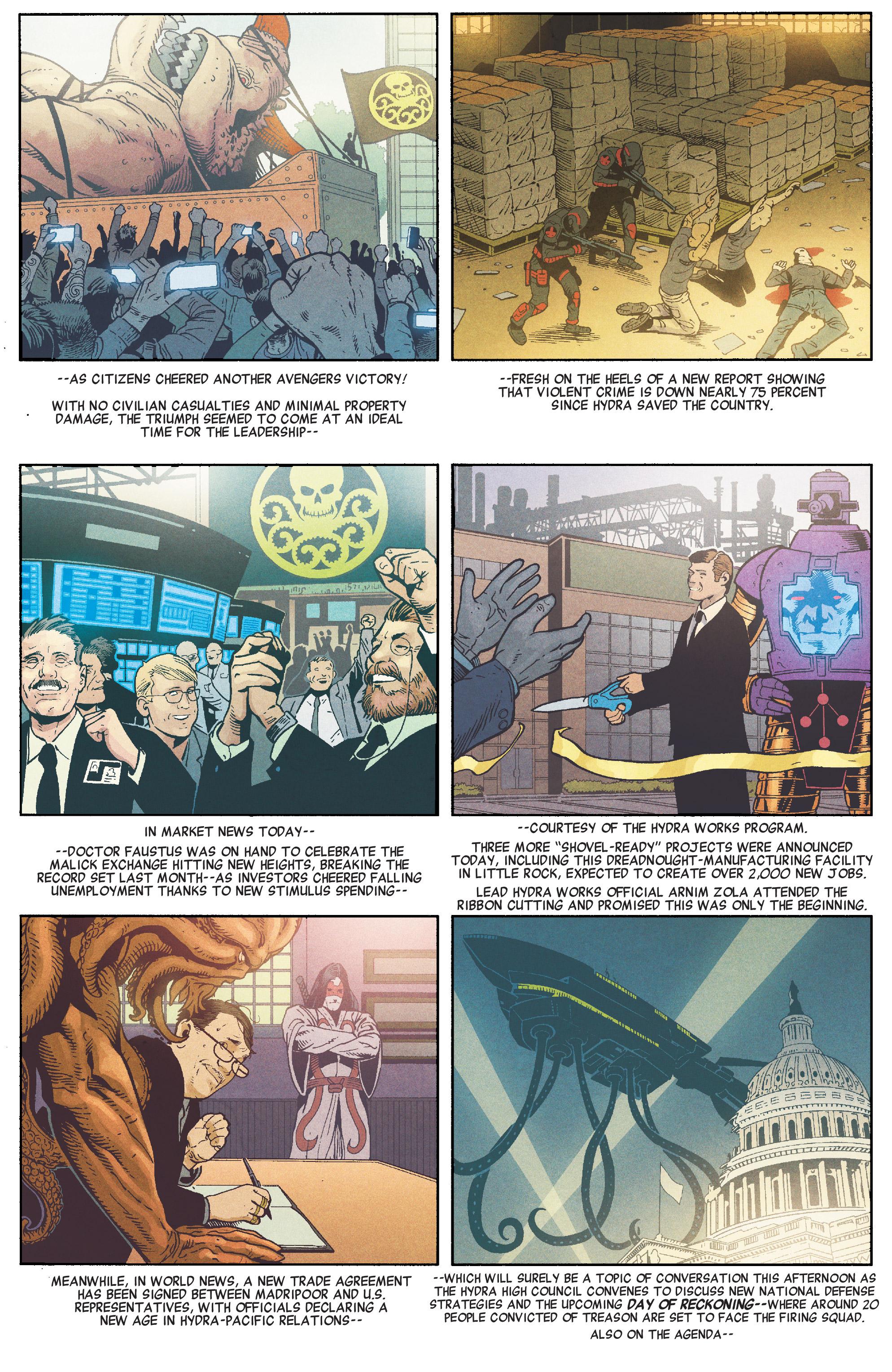 Read online Secret Empire comic -  Issue #1 - 18
