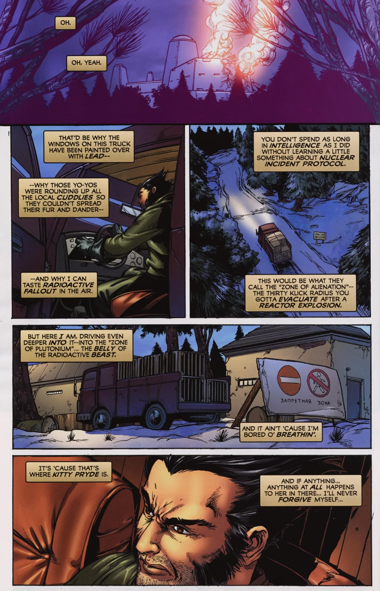 Read online Wolverine: First Class comic -  Issue #7 - 5