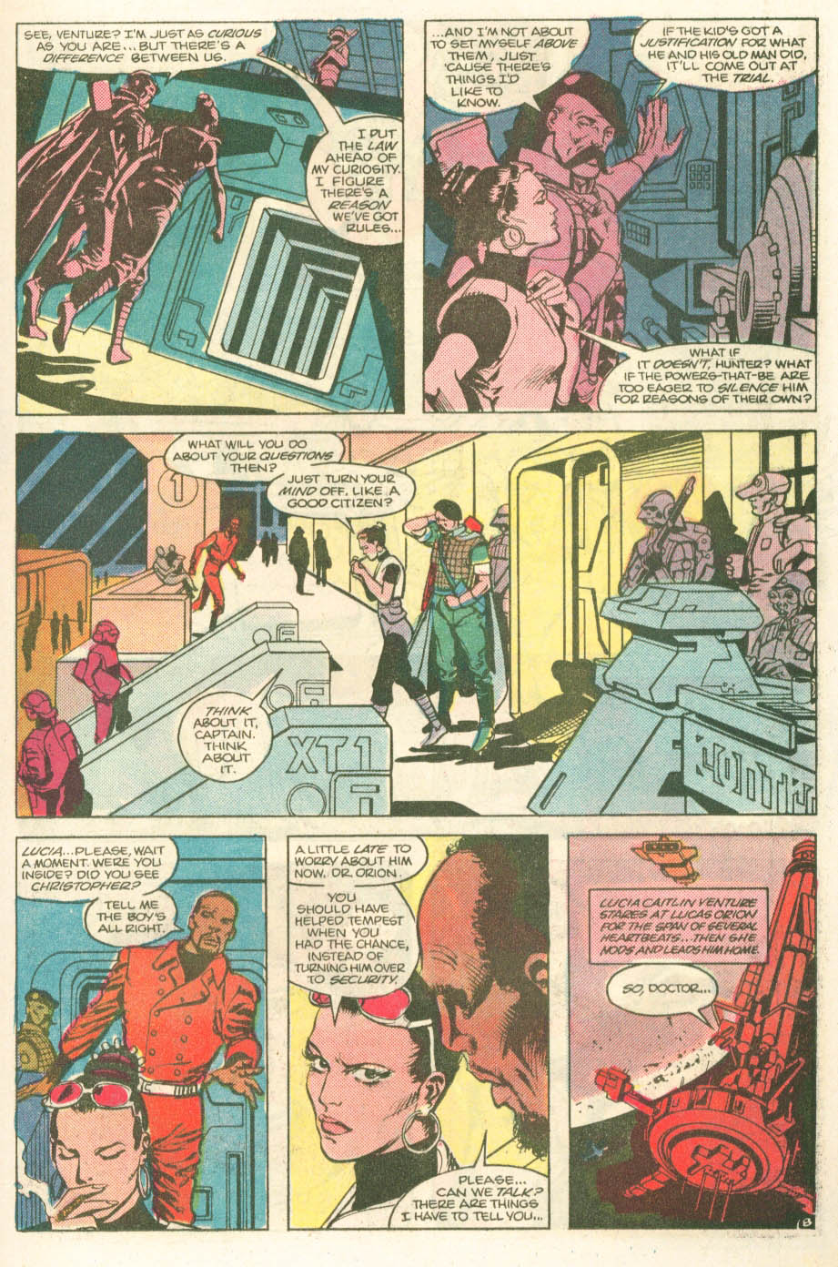 Read online Atari Force (1984) comic -  Issue #11 - 10