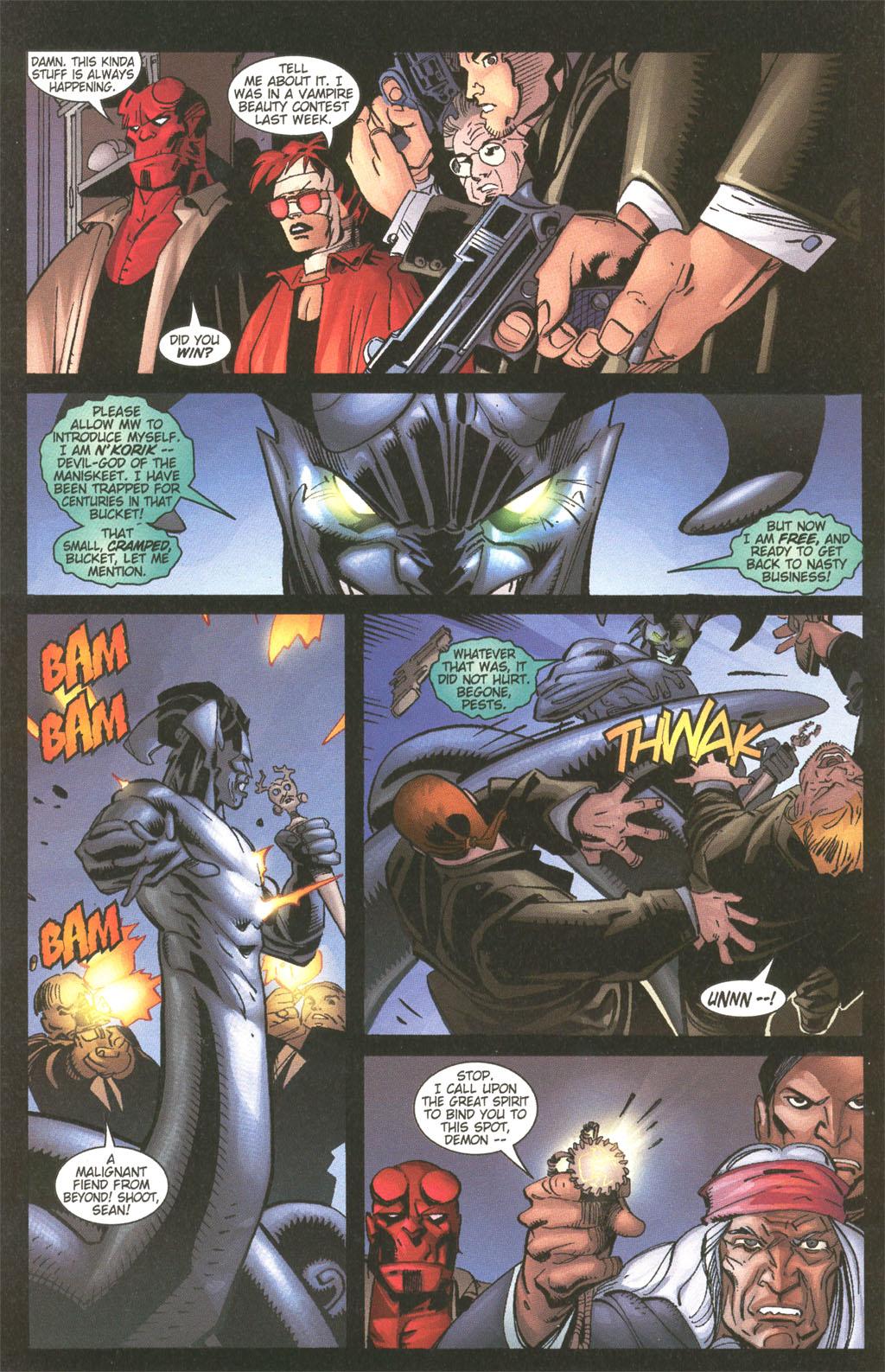 Read online Painkiller Jane/Hellboy comic -  Issue # Full - 10