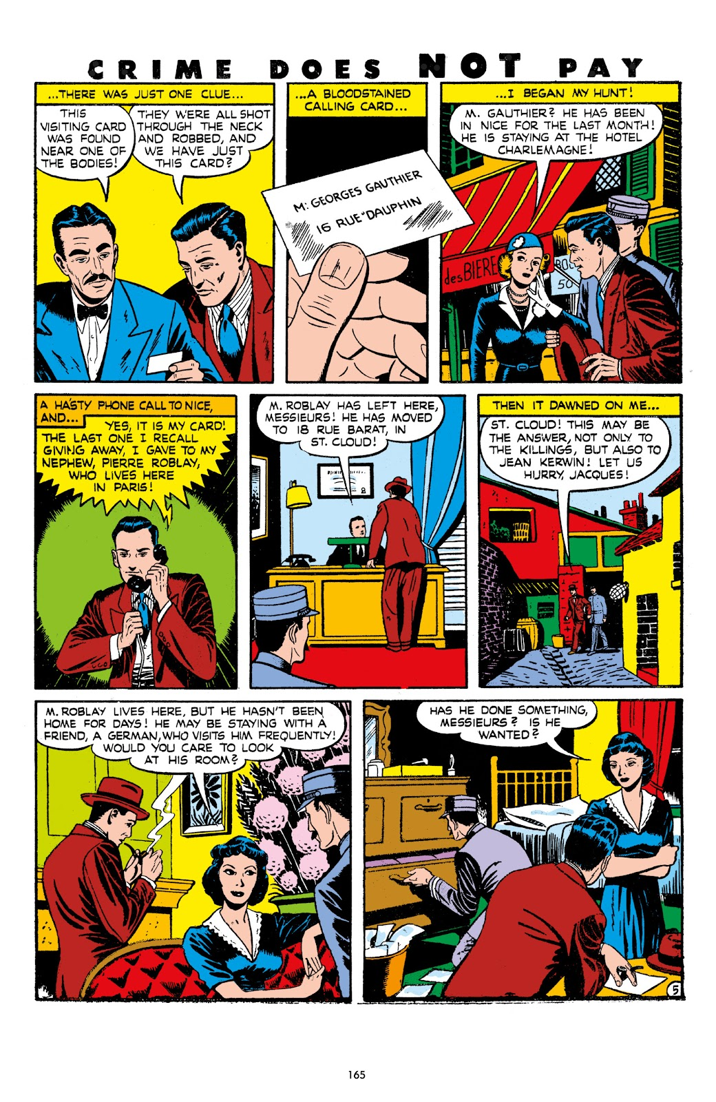 Read online Crime Does Not Pay Archives comic -  Issue # TPB 7 (Part 2) - 67