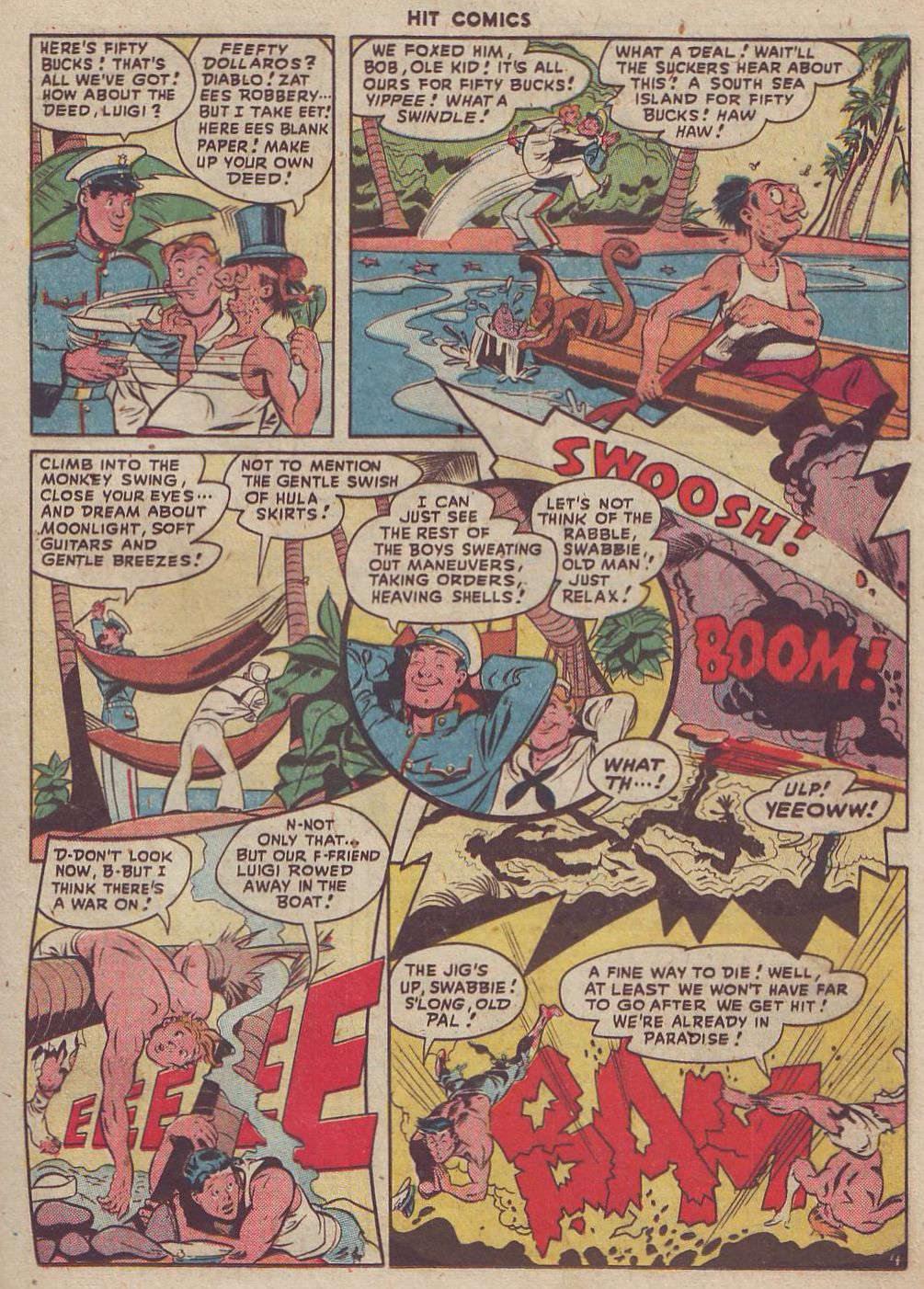 Read online Hit Comics comic -  Issue #51 - 19