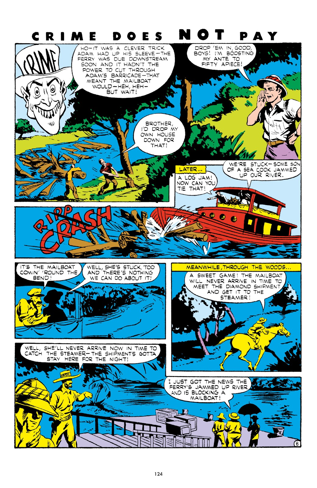 Read online Crime Does Not Pay Archives comic -  Issue # TPB 5 (Part 2) - 24