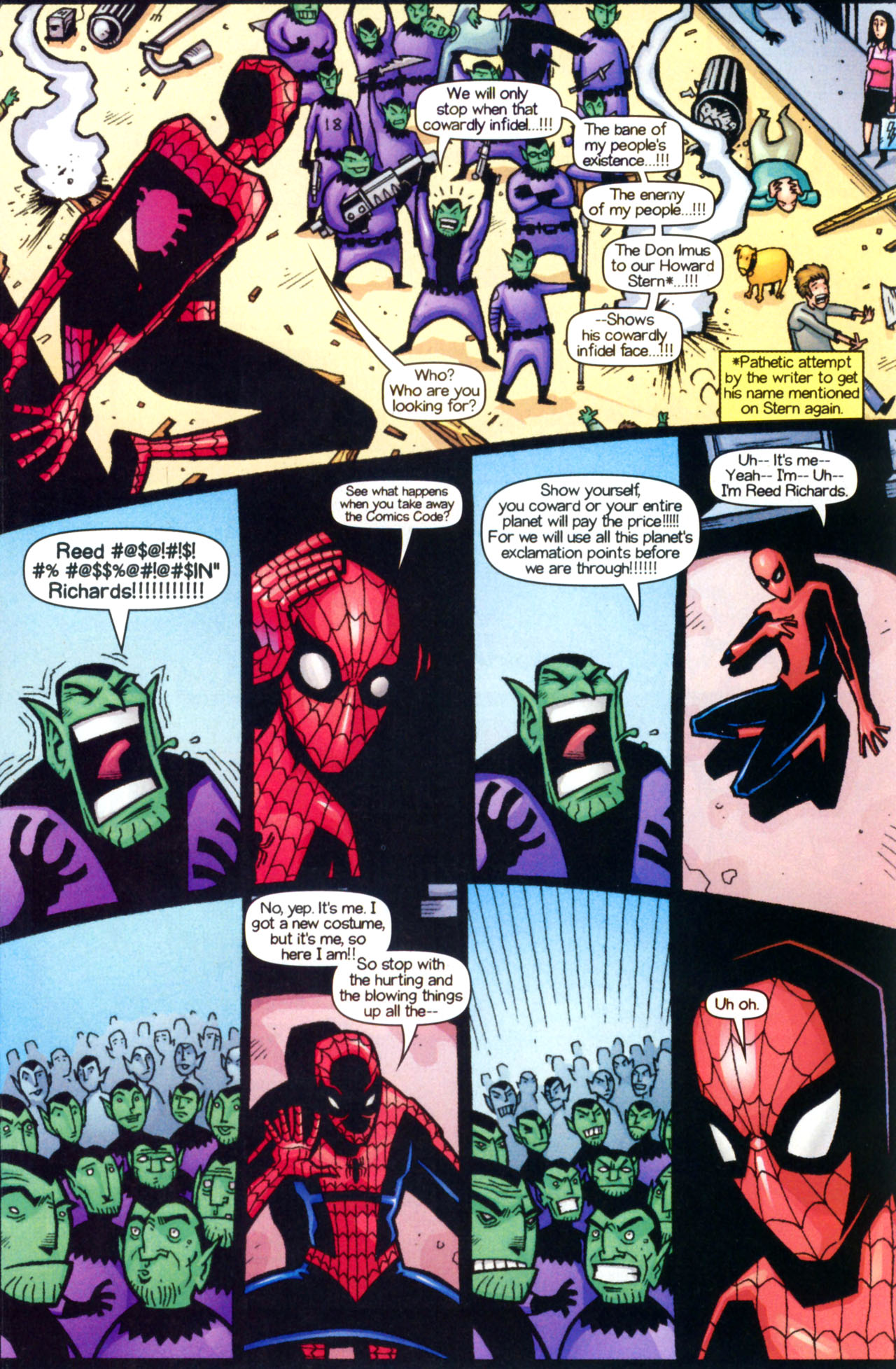 Read online Ultimate Marvel Team-Up comic -  Issue #9 - 23