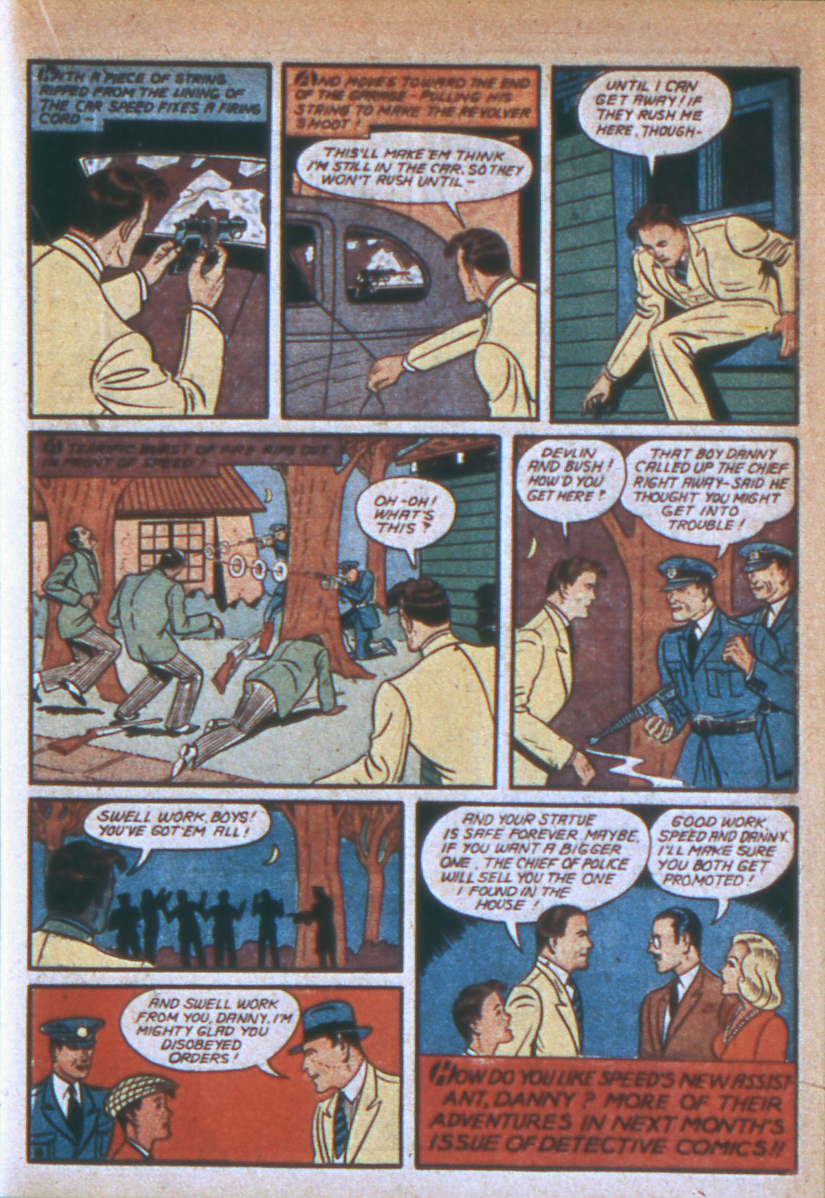Read online Detective Comics (1937) comic -  Issue #39 - 42
