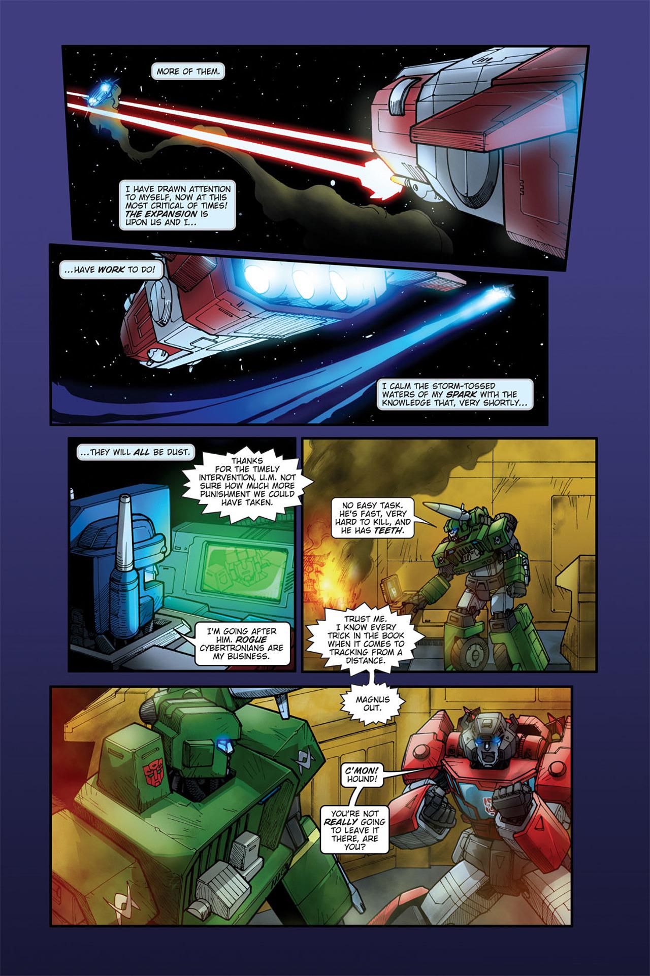 Read online Transformers Spotlight: Cyclonus comic -  Issue # Full - 17