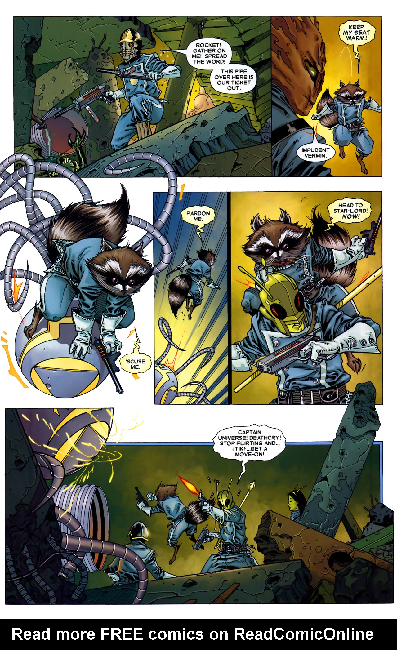 Read online Annihilation: Conquest - Starlord comic -  Issue #2 - 19