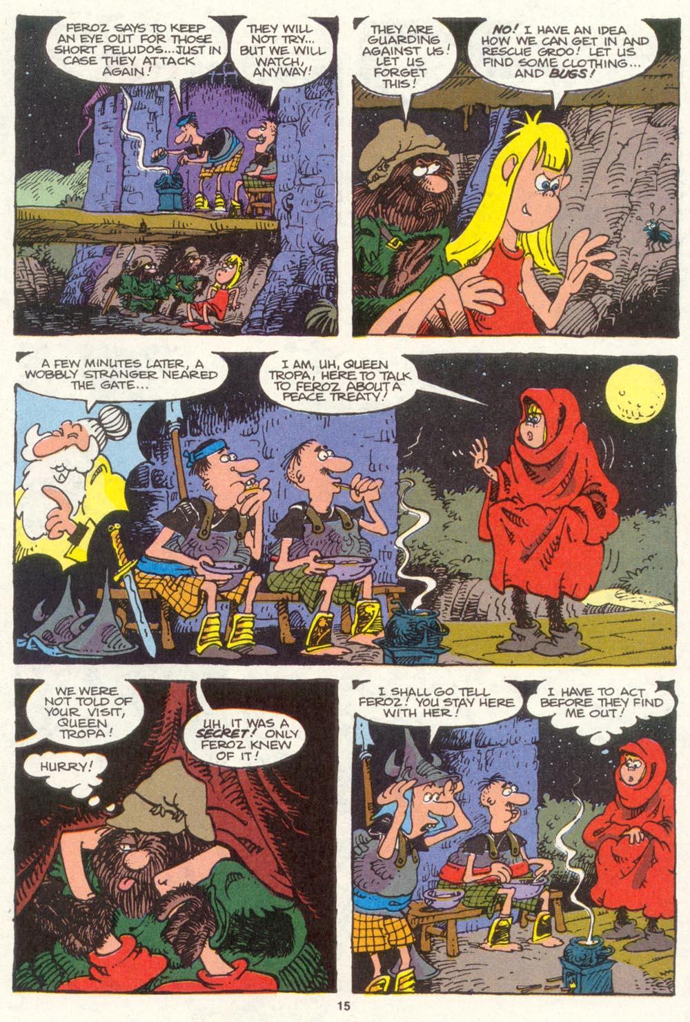Read online Sergio Aragonés Groo the Wanderer comic -  Issue #83 - 12