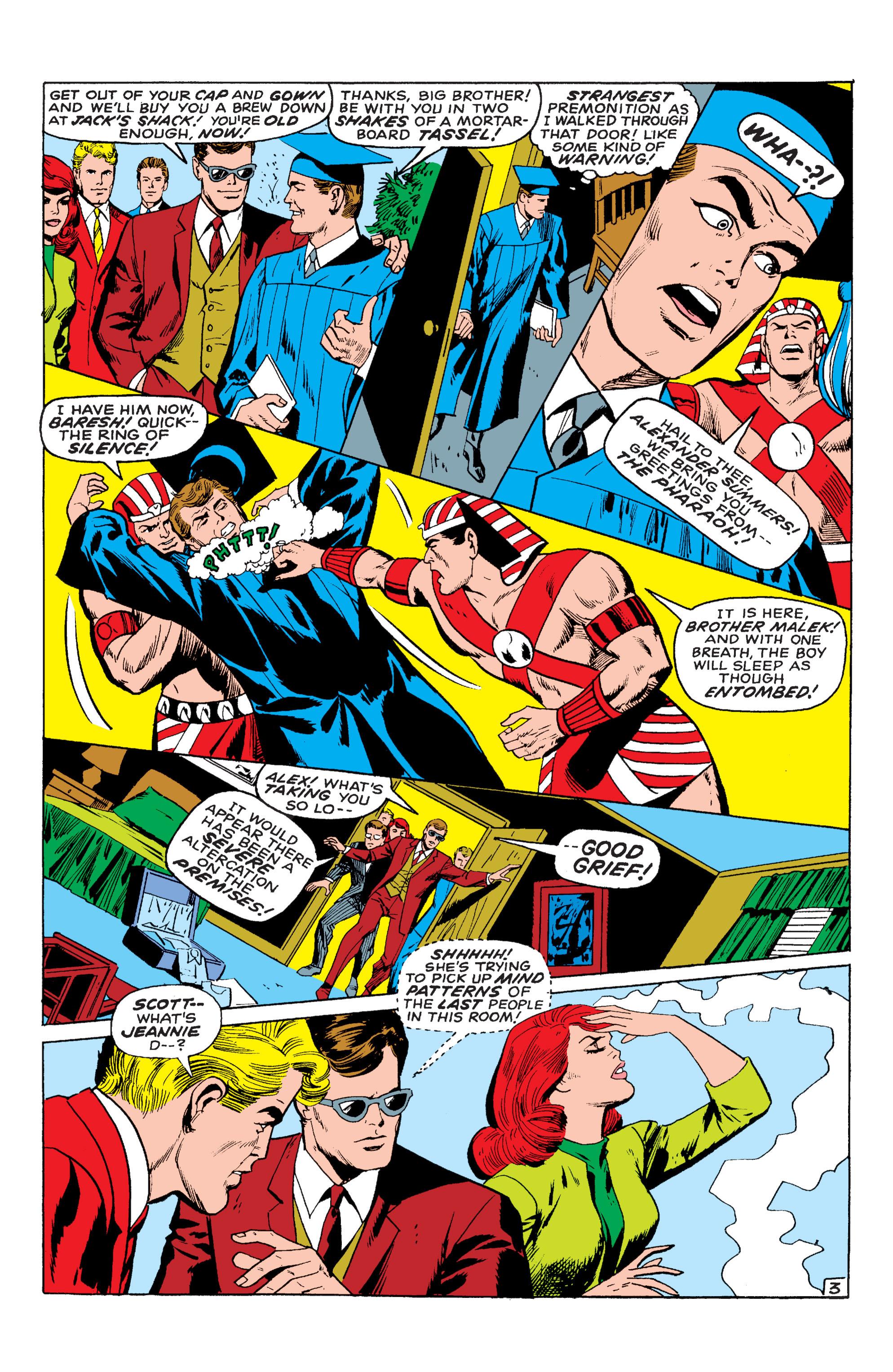 Read online Uncanny X-Men (1963) comic -  Issue #54 - 4