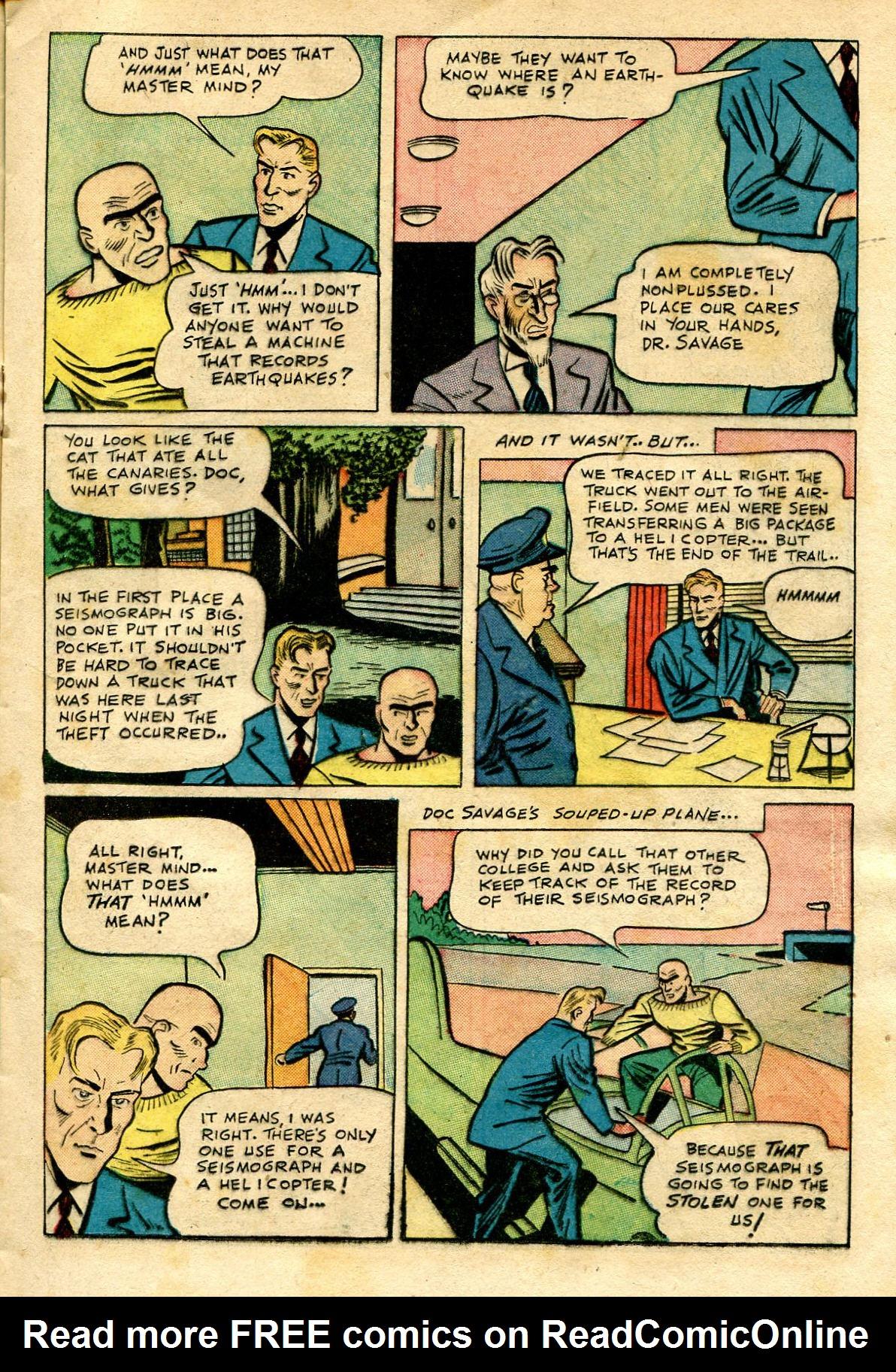 Read online Shadow Comics comic -  Issue #65 - 21