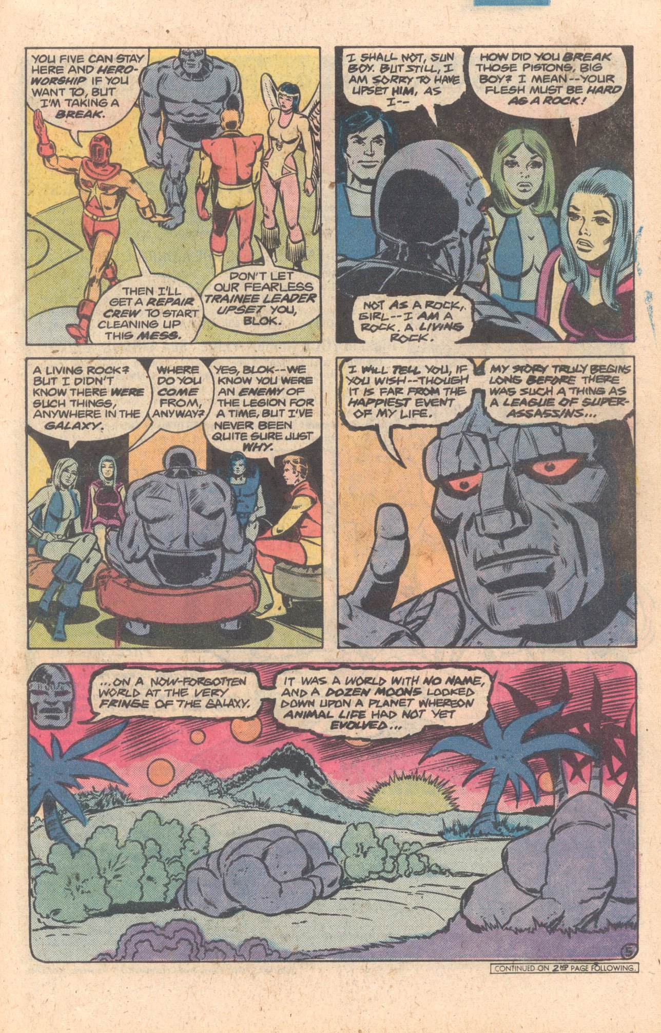 Legion of Super-Heroes (1980) 272 Page 5