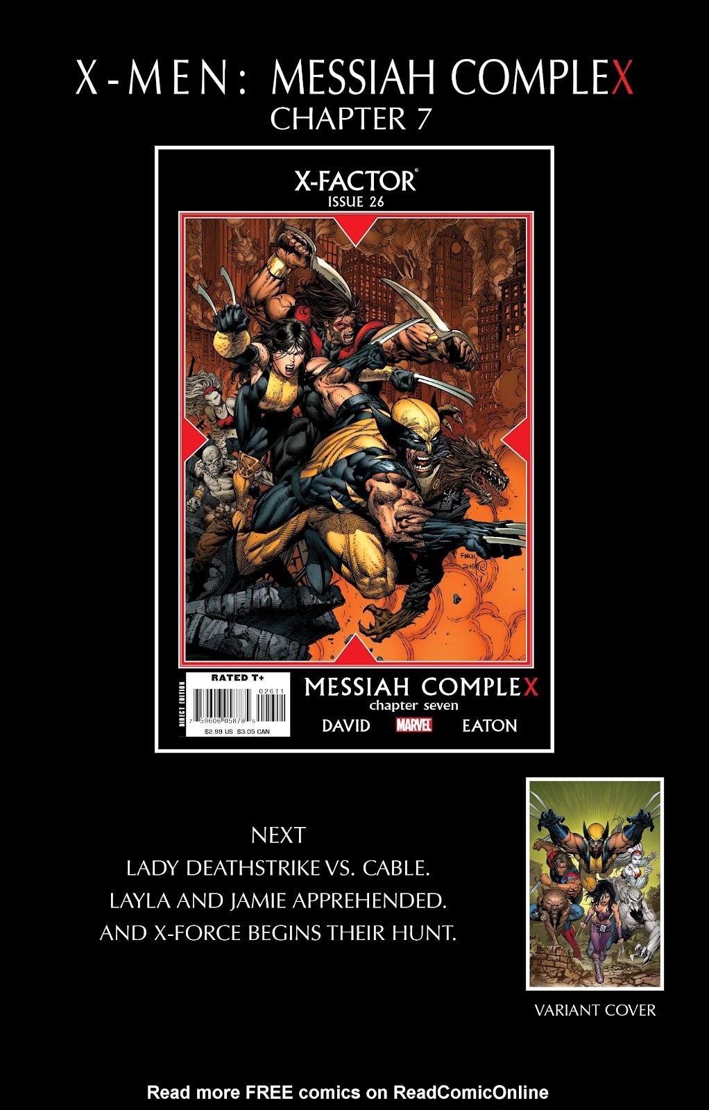 Uncanny X-Men (1963) issue 493 - Page 26
