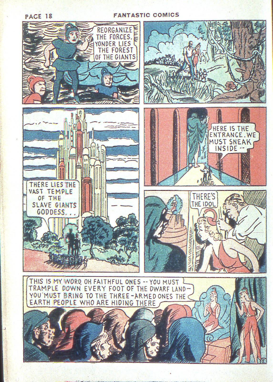 Read online Fantastic Comics comic -  Issue #3 - 21