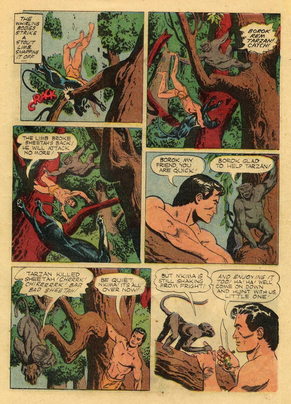 Tarzan (1948) issue 76 - Page 21