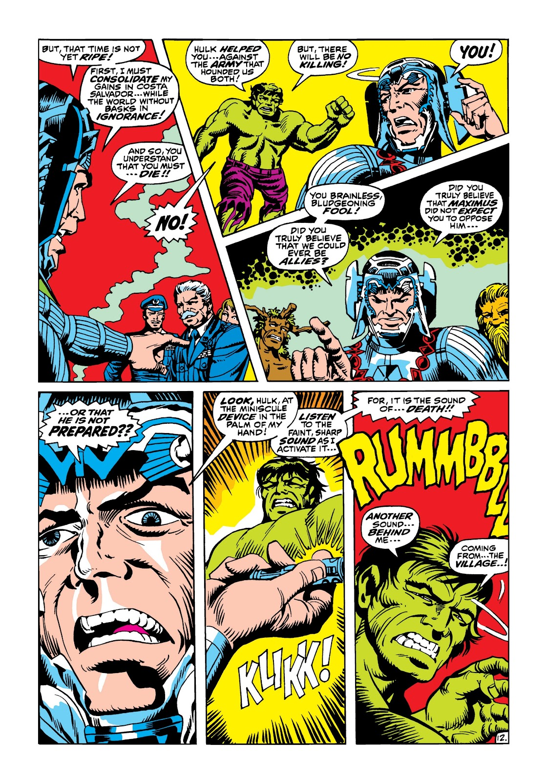 Read online Marvel Masterworks: The Incredible Hulk comic -  Issue # TPB 5 (Part 3) - 7