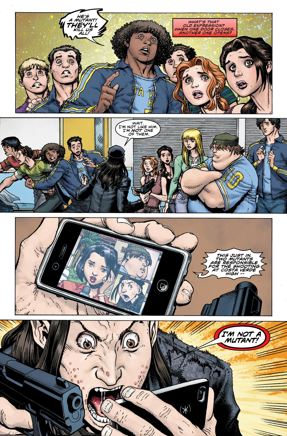 Read online Ultimate X comic -  Issue #4 - 17