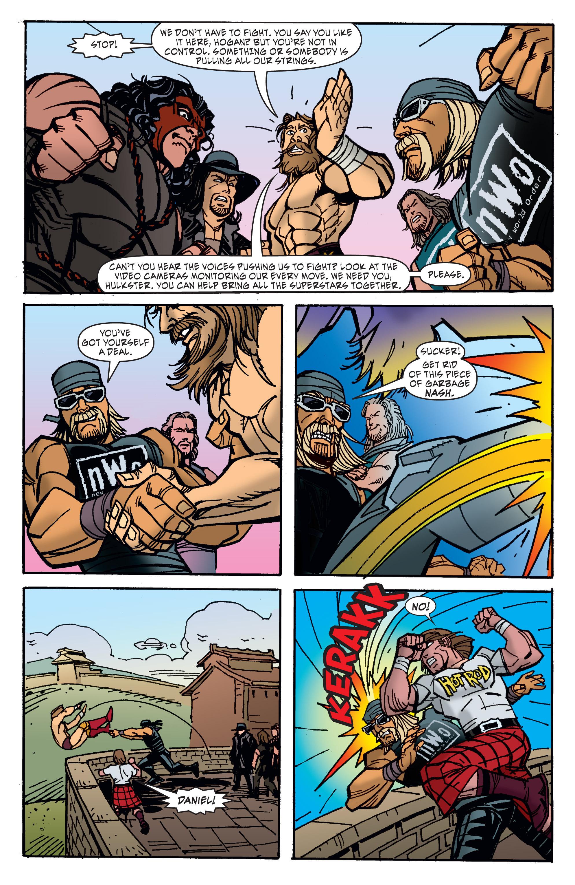 Read online WWE Superstars comic -  Issue #11 - 15