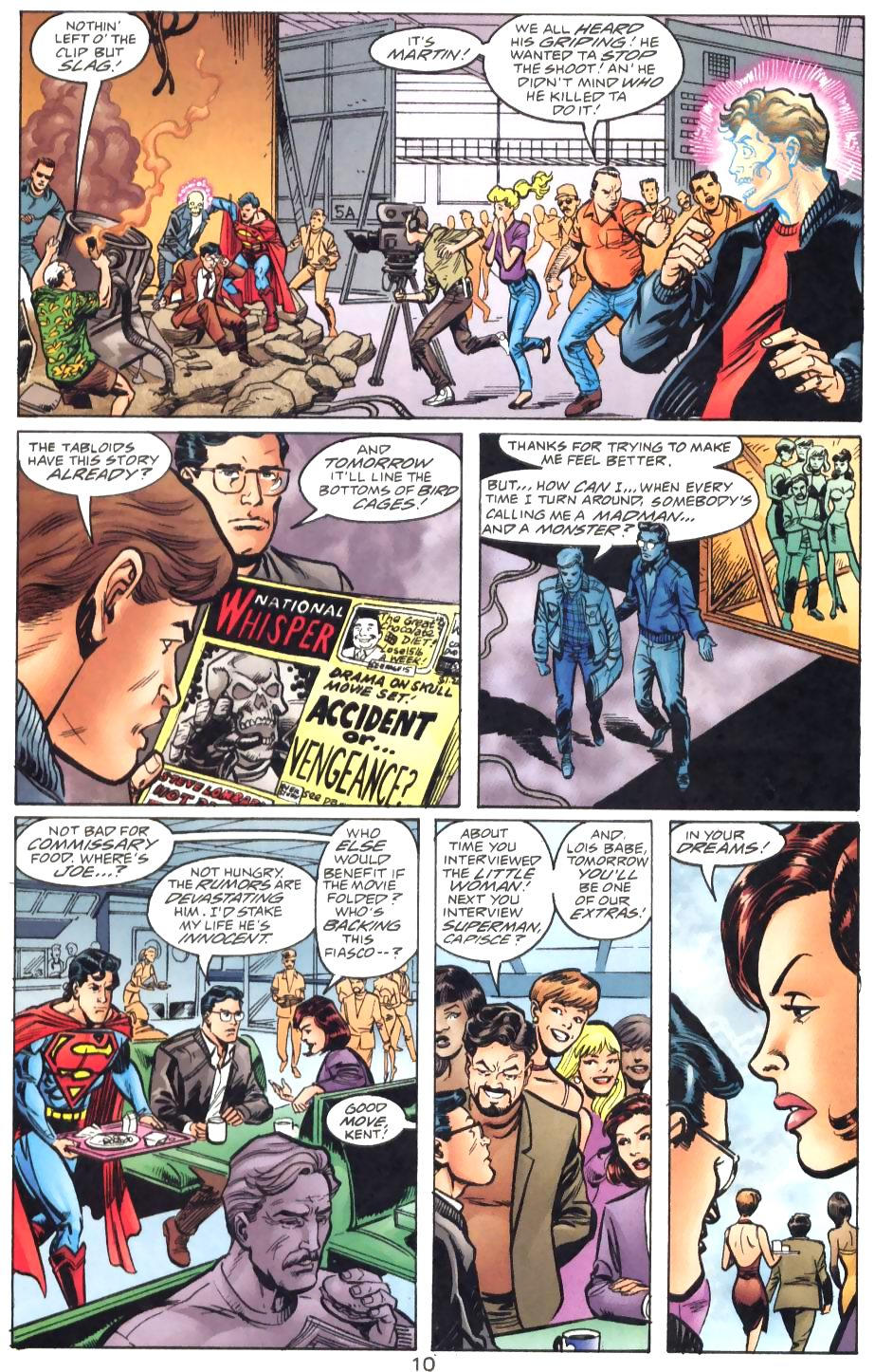 Read online Adventures of Superman (1987) comic -  Issue #571 - 12