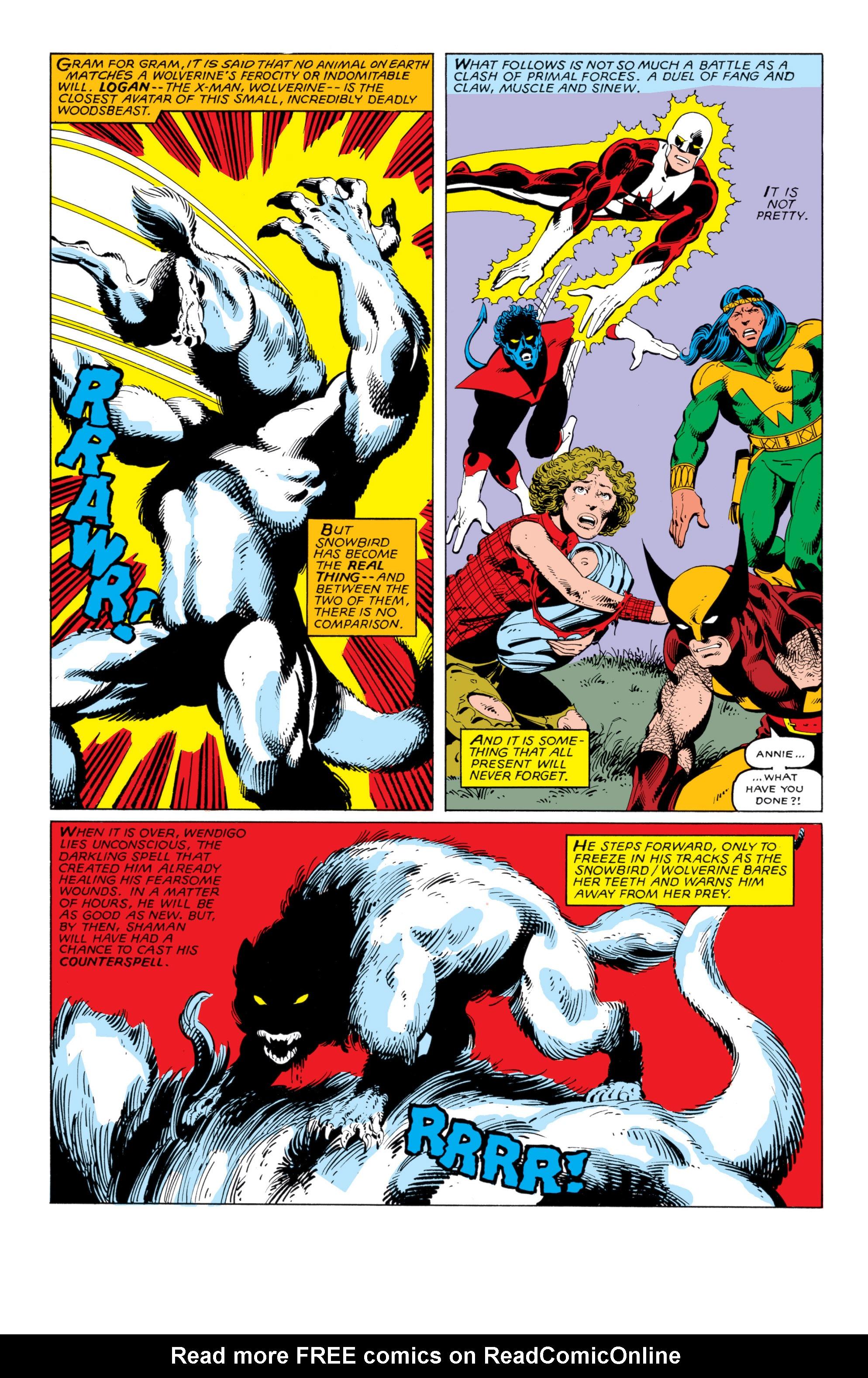 Read online Uncanny X-Men (1963) comic -  Issue #140 - 18