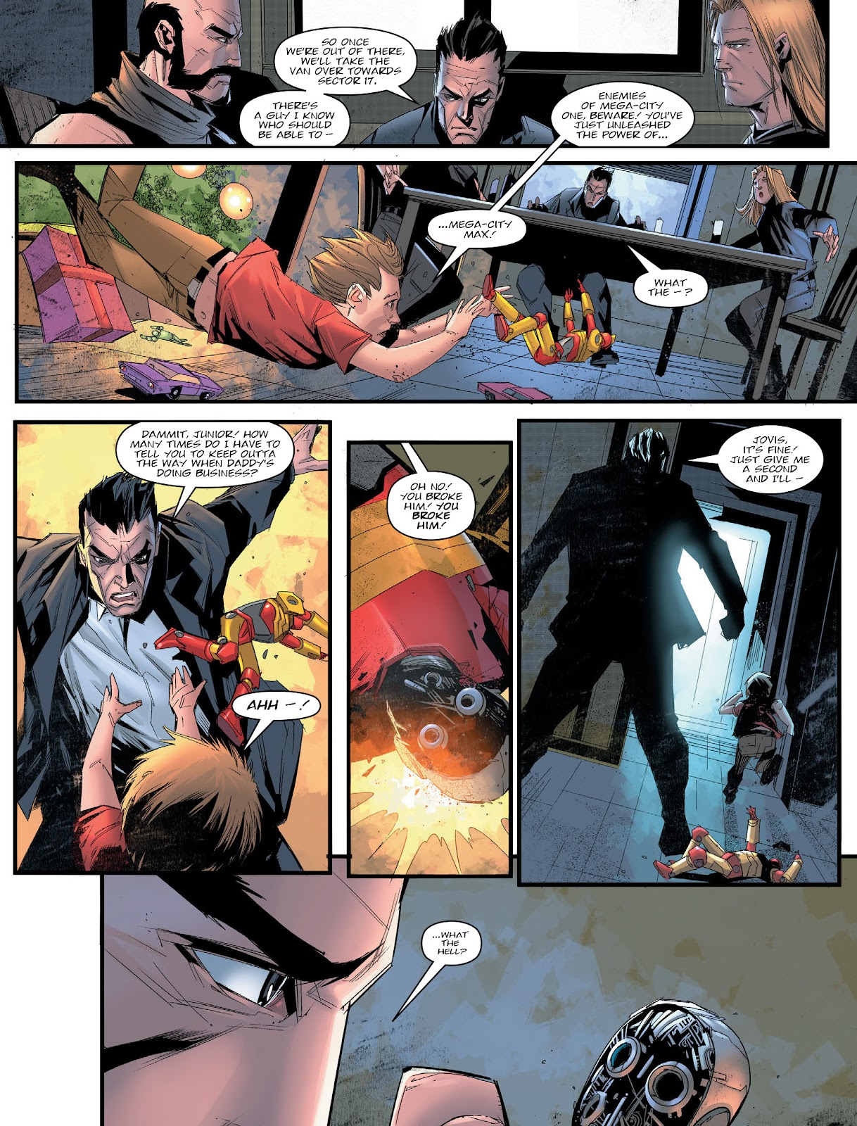 Judge Dredd Megazine (Vol. 5) issue 427 - Page 11
