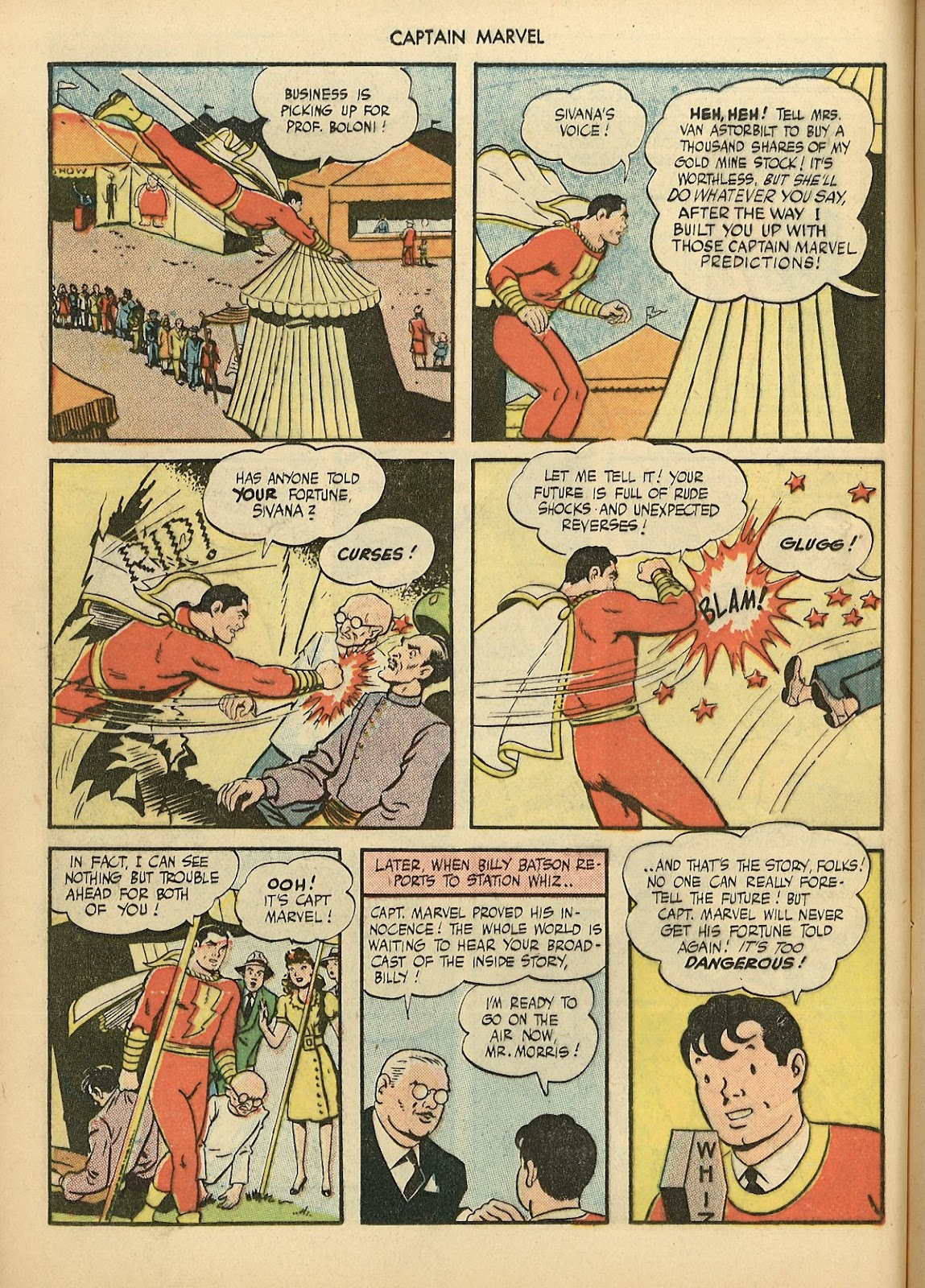 Captain Marvel Adventures issue 70 - Page 12