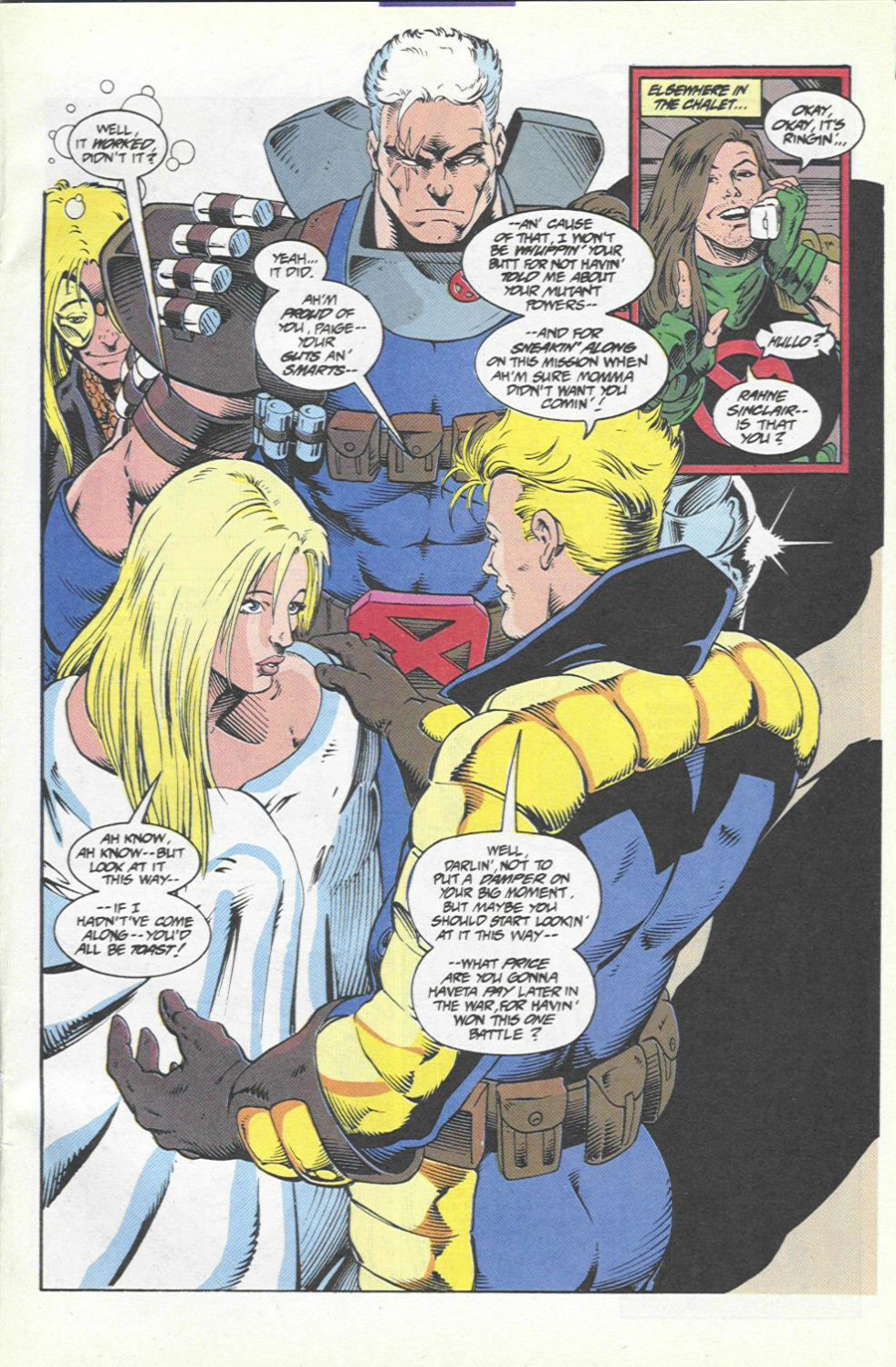 The New Warriors Issue #46 #50 - English 22